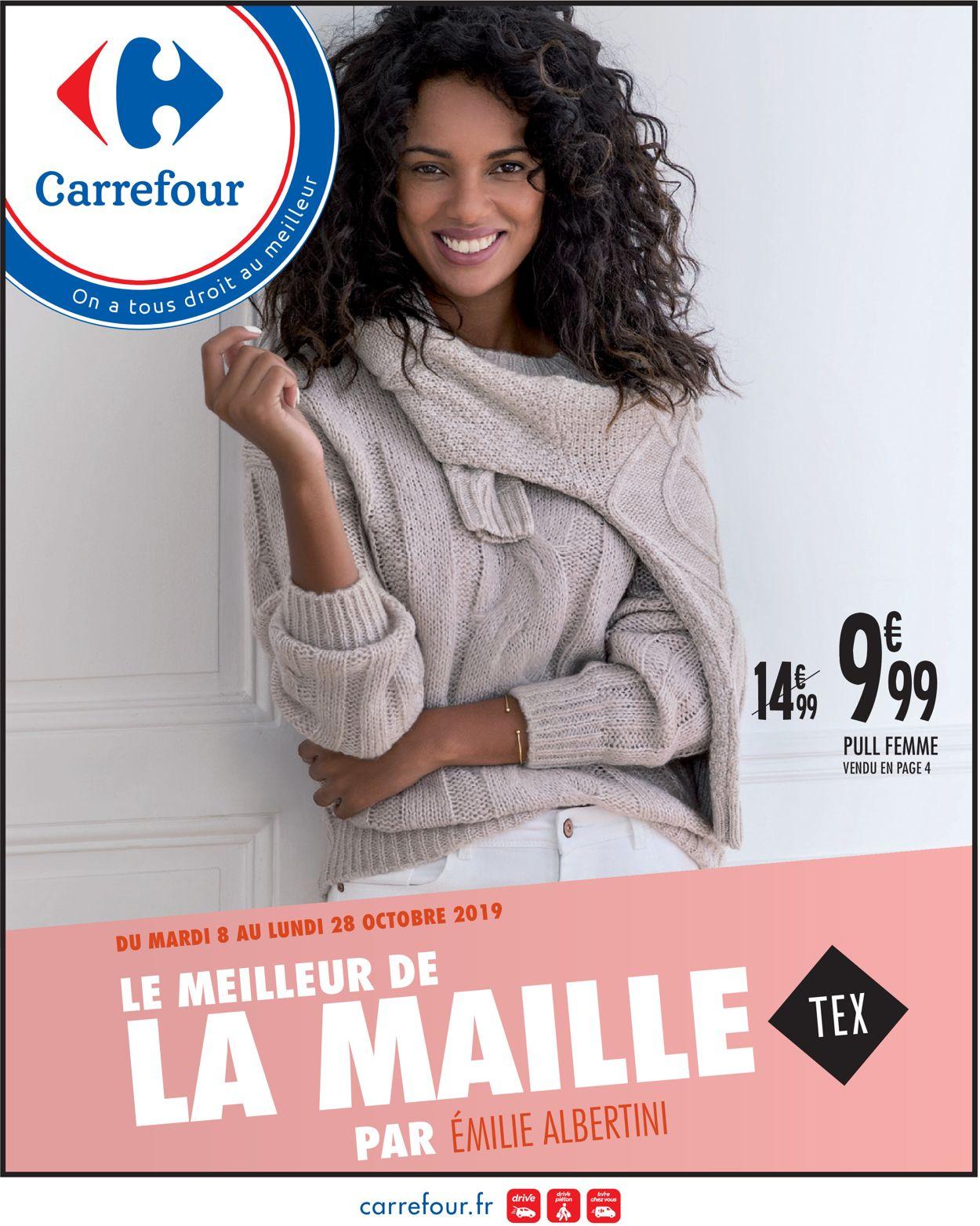 Carrefour Catalogue - 08.10-28.10.2019