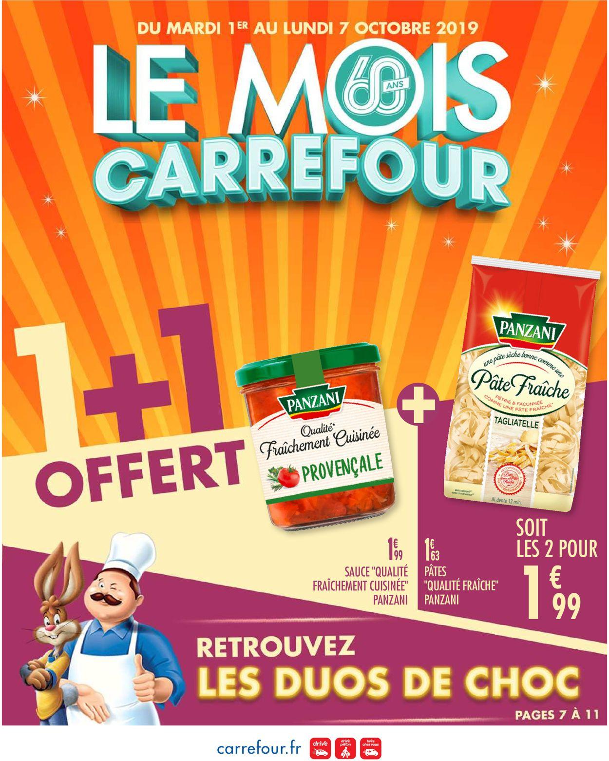 Carrefour Catalogue - 01.10-07.10.2019