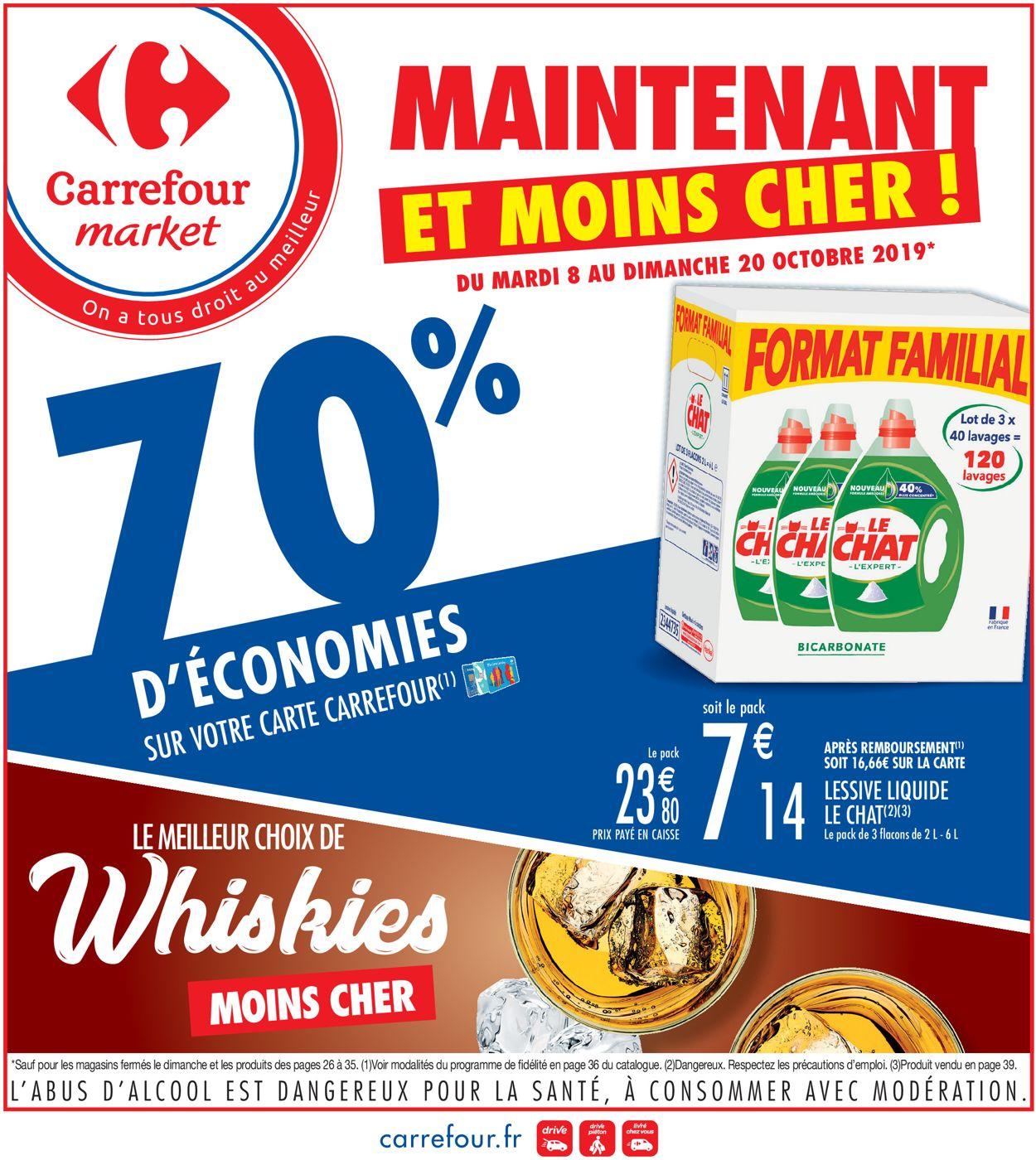 Carrefour Catalogue - 08.10-20.10.2019