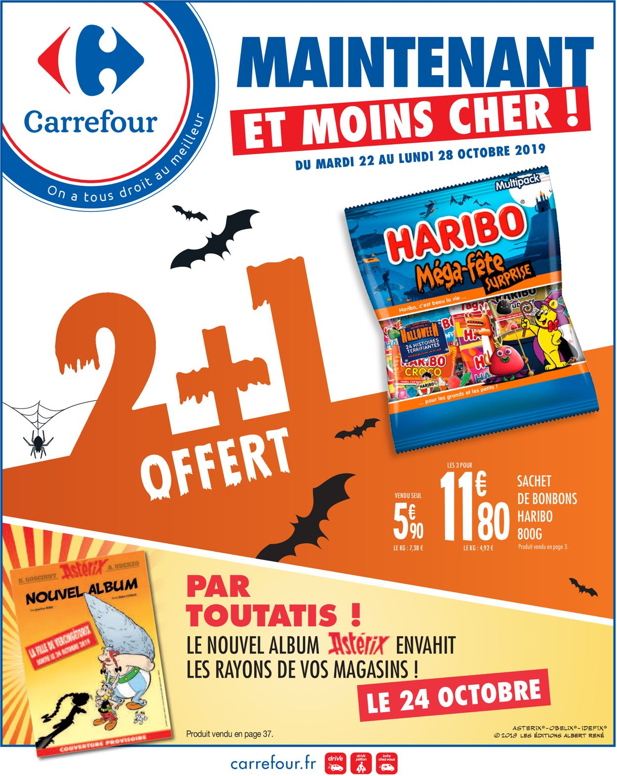 Carrefour Catalogue - 22.10-28.10.2019