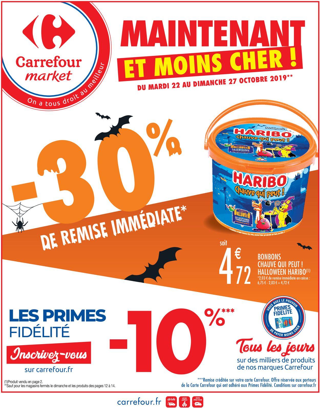 Carrefour Catalogue - 22.10-27.10.2019