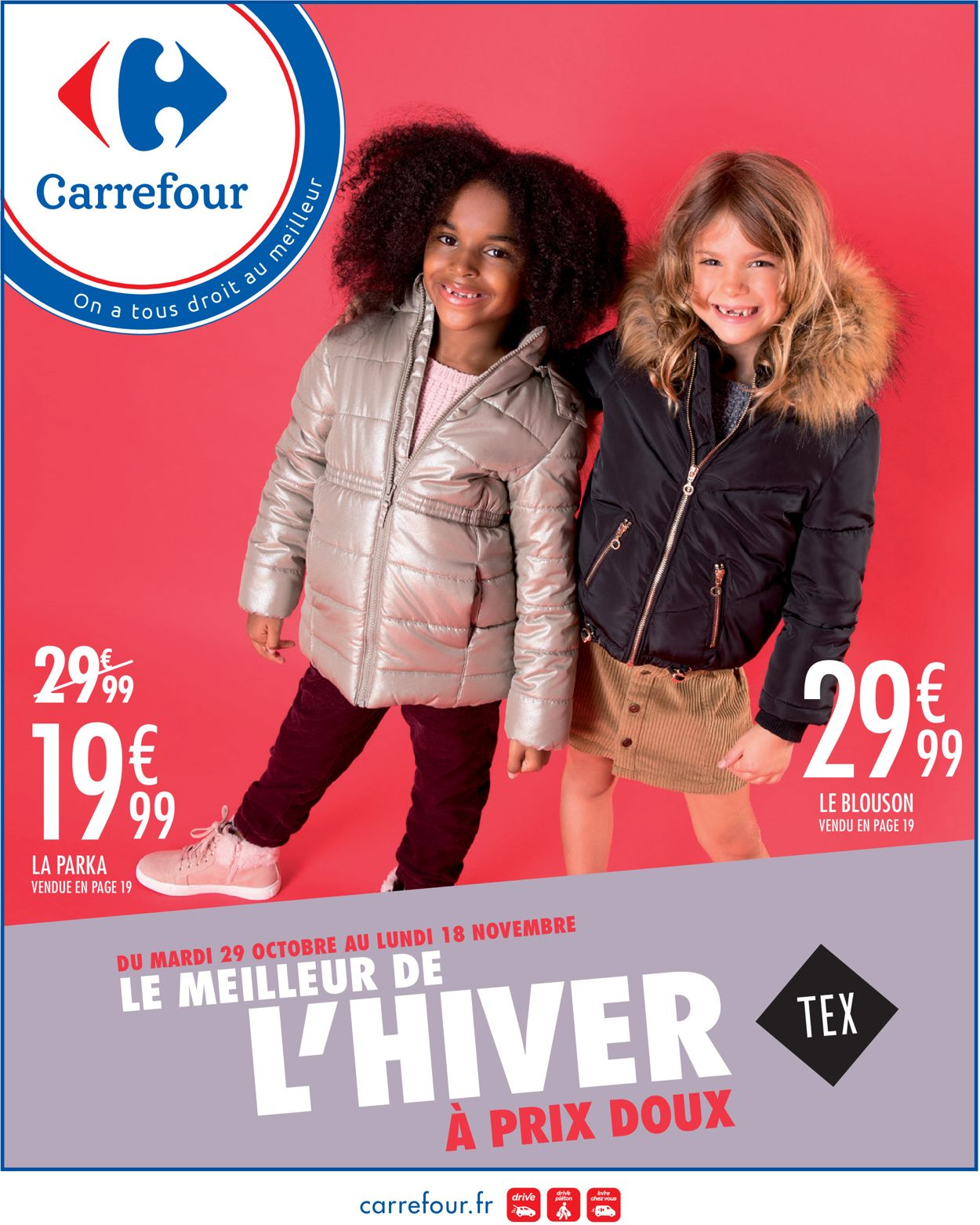 Carrefour Catalogue - 29.10-18.11.2019