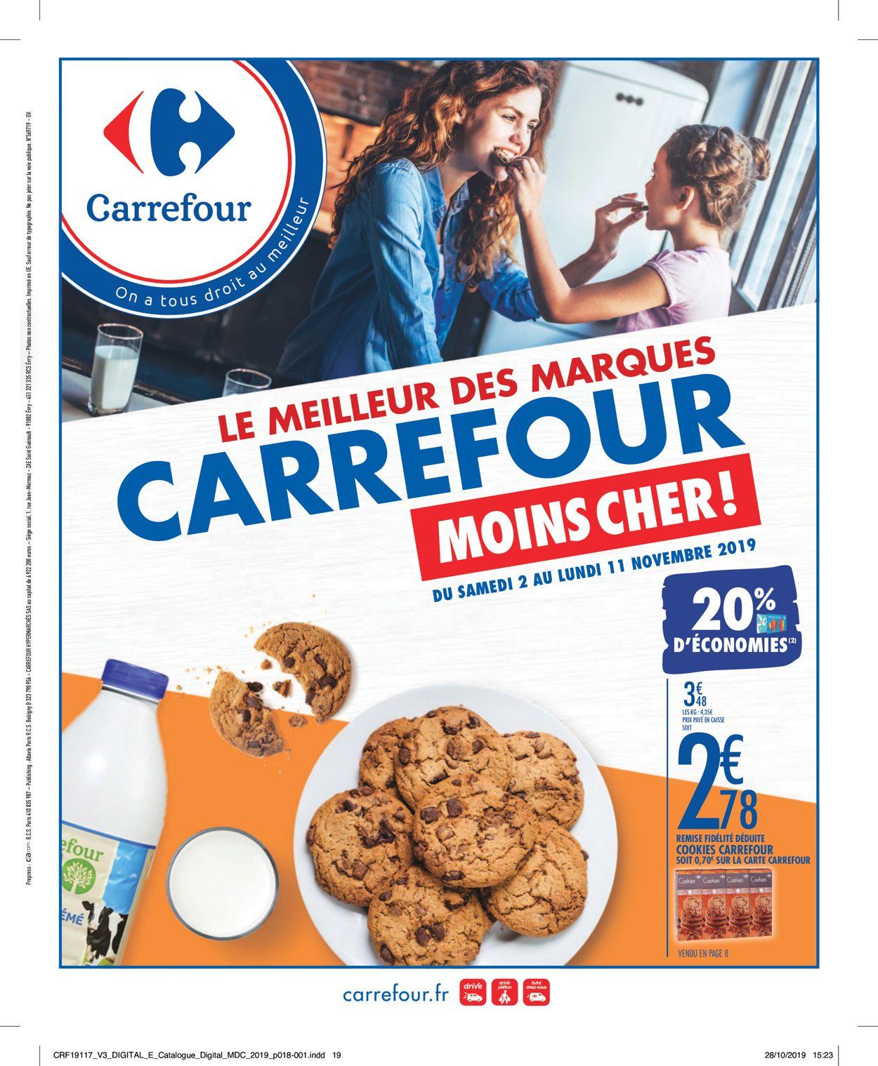 Carrefour Catalogue - 02.11-11.11.2019
