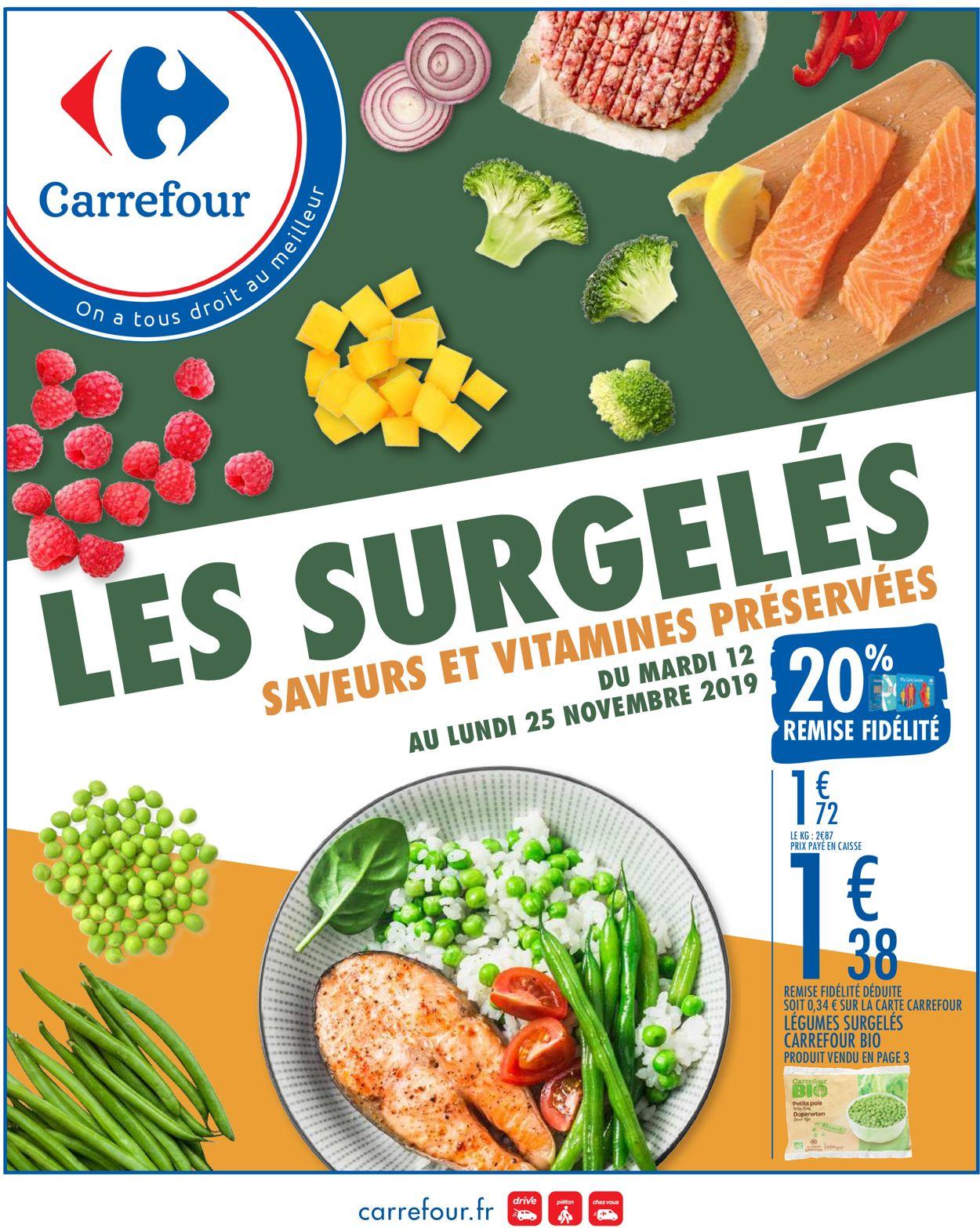 Carrefour Catalogue - 12.11-25.11.2019