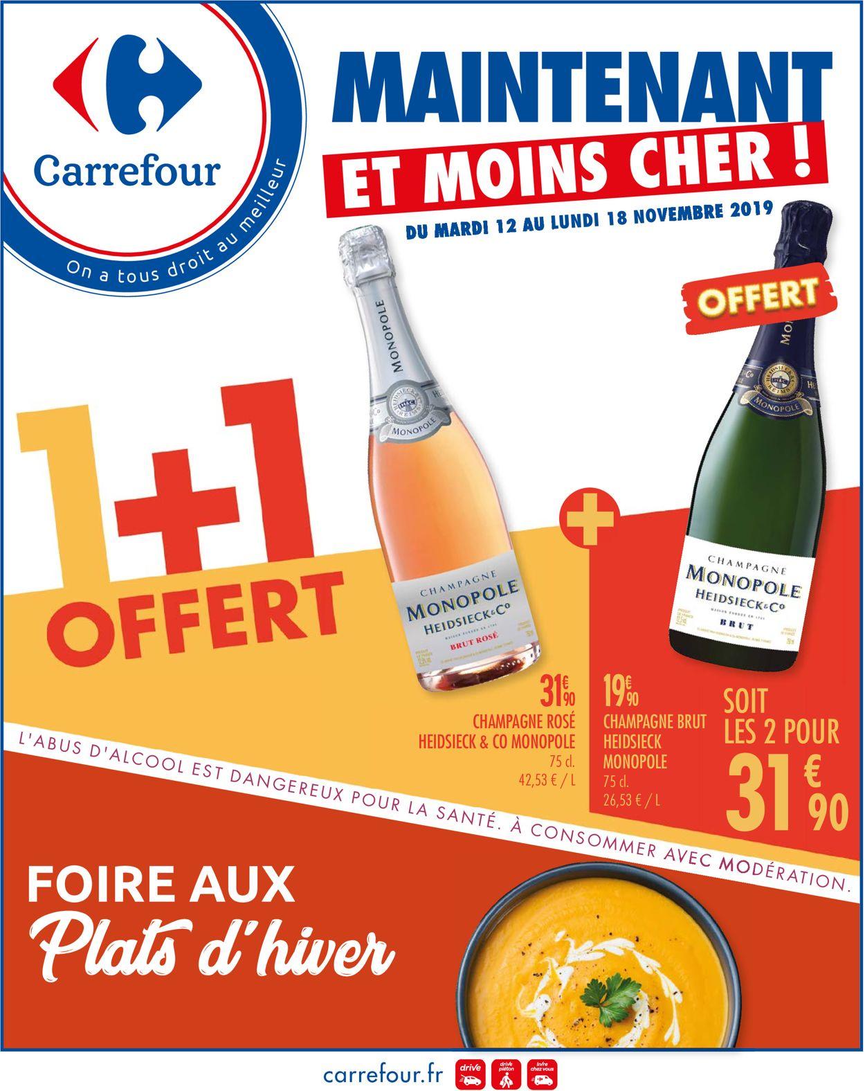 Carrefour Catalogue - 12.11-18.11.2019