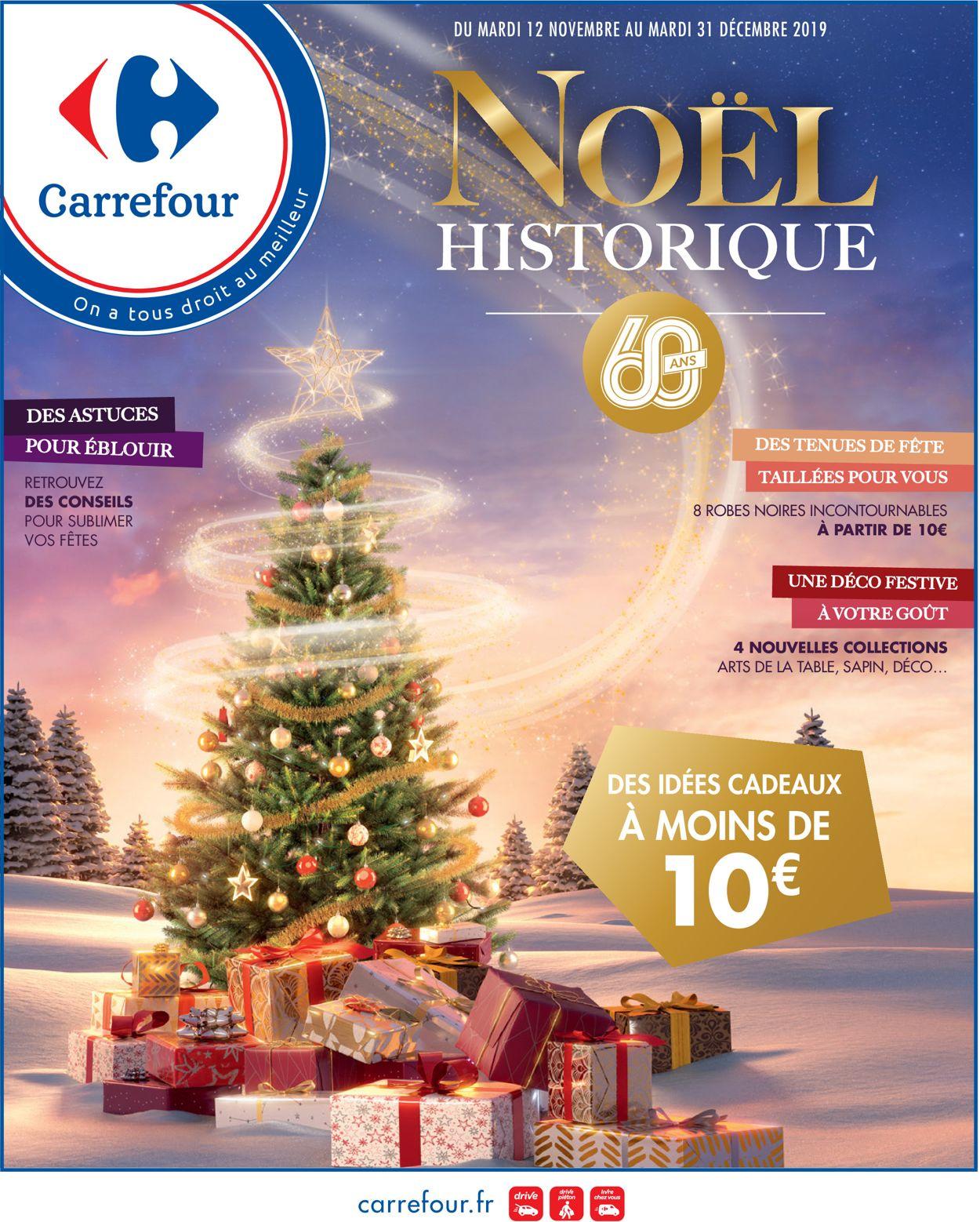 Carrefour - catalogue de Noël 2019 Catalogue - 12.11-31.12.2019