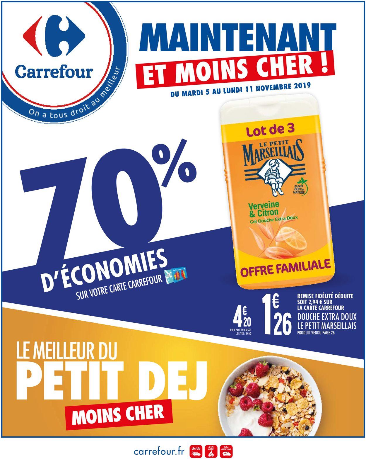 Carrefour Catalogue - 05.11-18.11.2019
