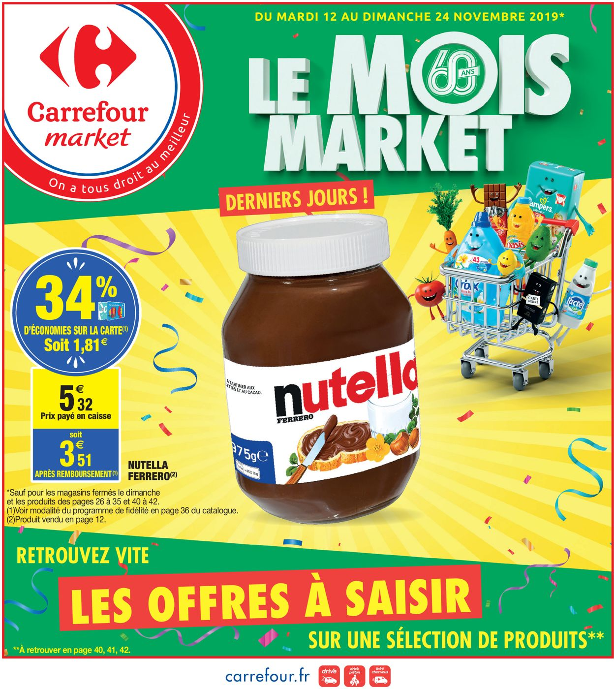 Carrefour Catalogue - 12.11-24.11.2019