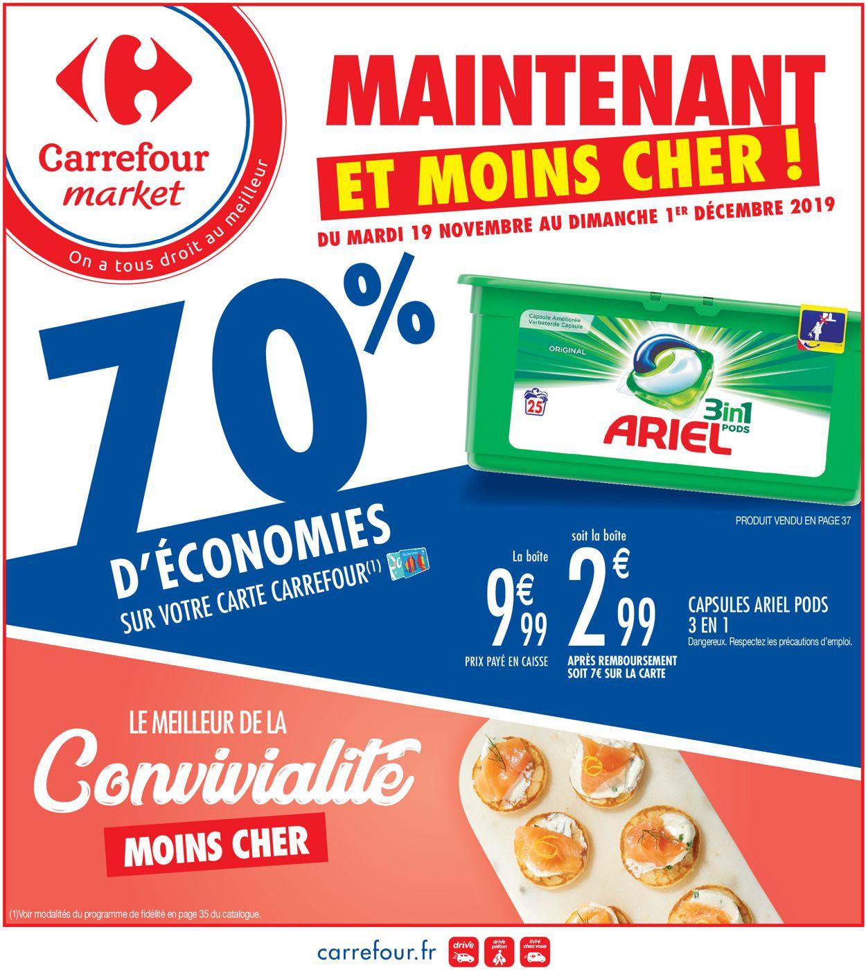 Carrefour Catalogue - 19.11-01.12.2019