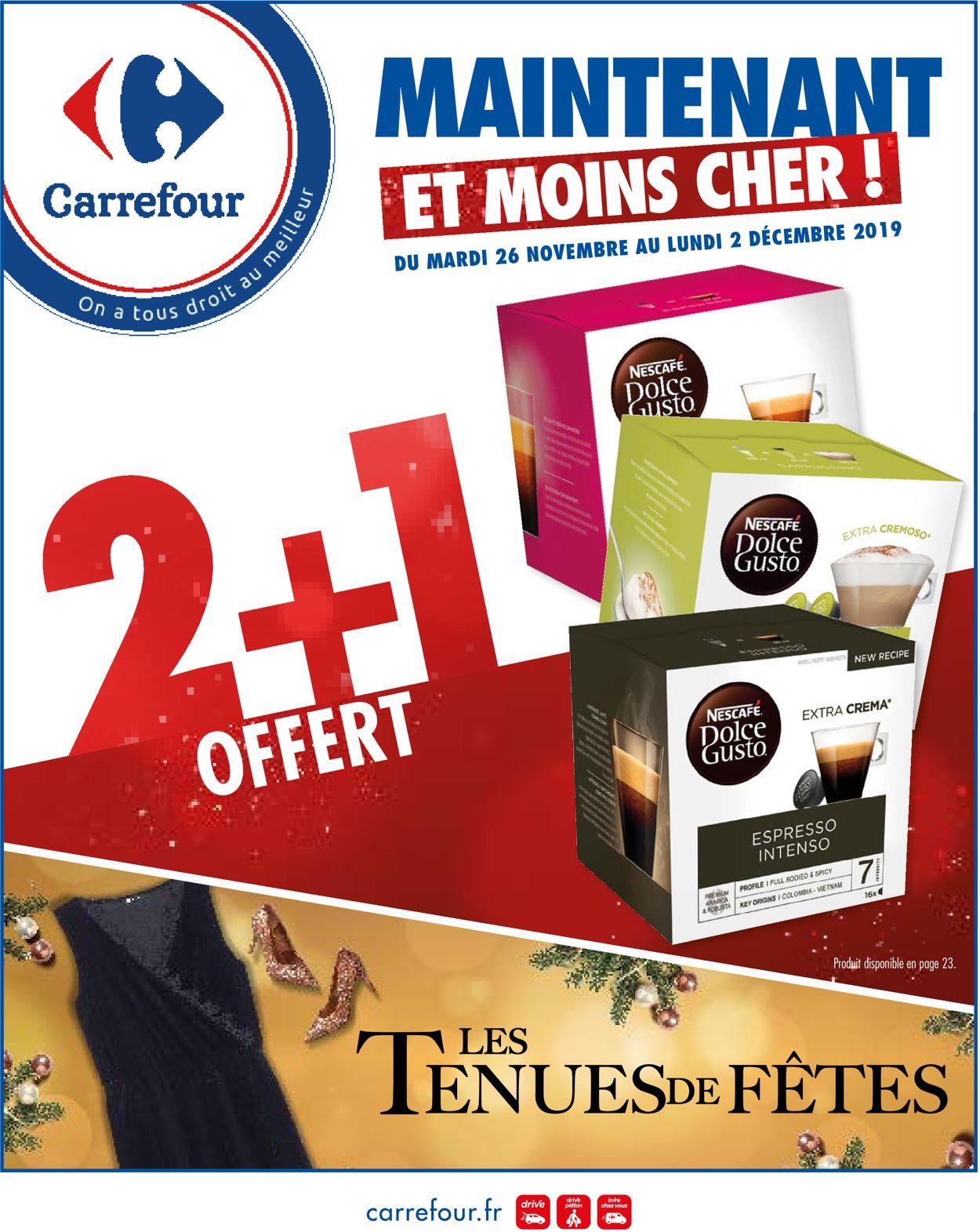 Carrefour Catalogue - 26.11-02.12.2019