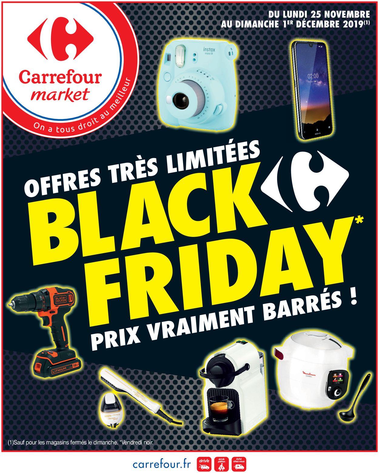 Carrefour BLACK FRIDAY 2019 Catalogue - 25.11-01.12.2019