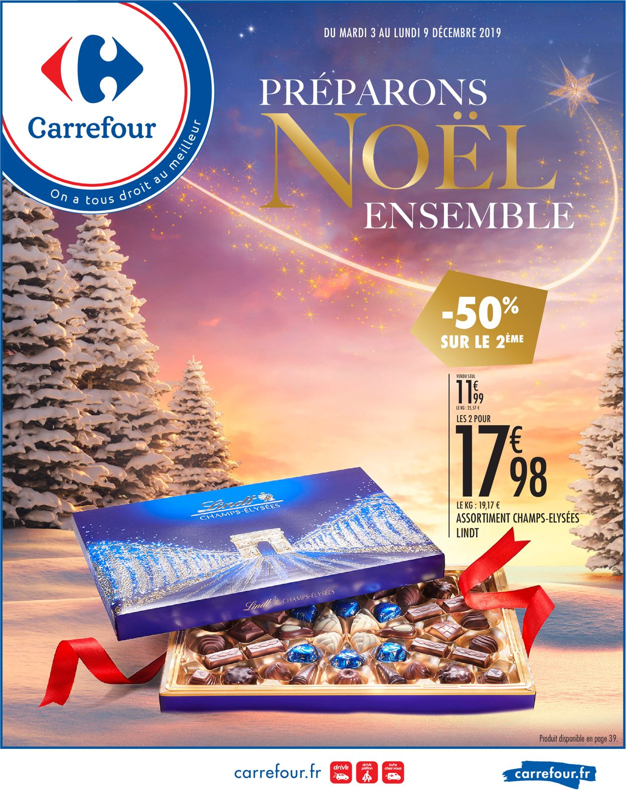 Carrefour - catalogue de Noël 2019 Catalogue - 03.12-09.12.2019