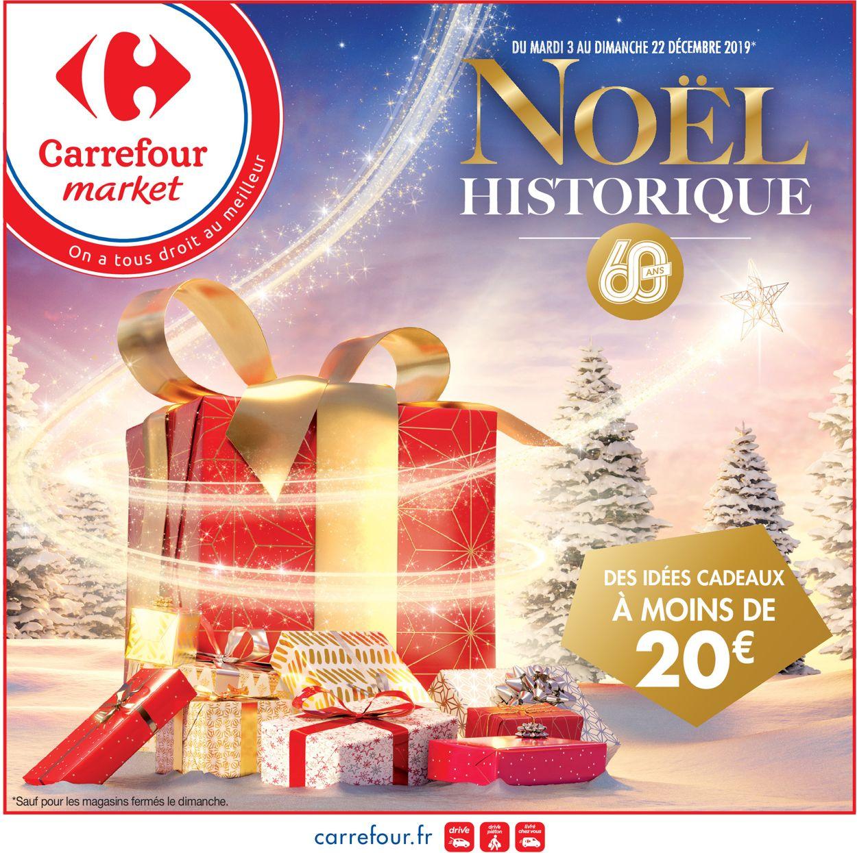 Carrefour - catalogue de Noël 2019 Catalogue - 03.12-22.12.2019