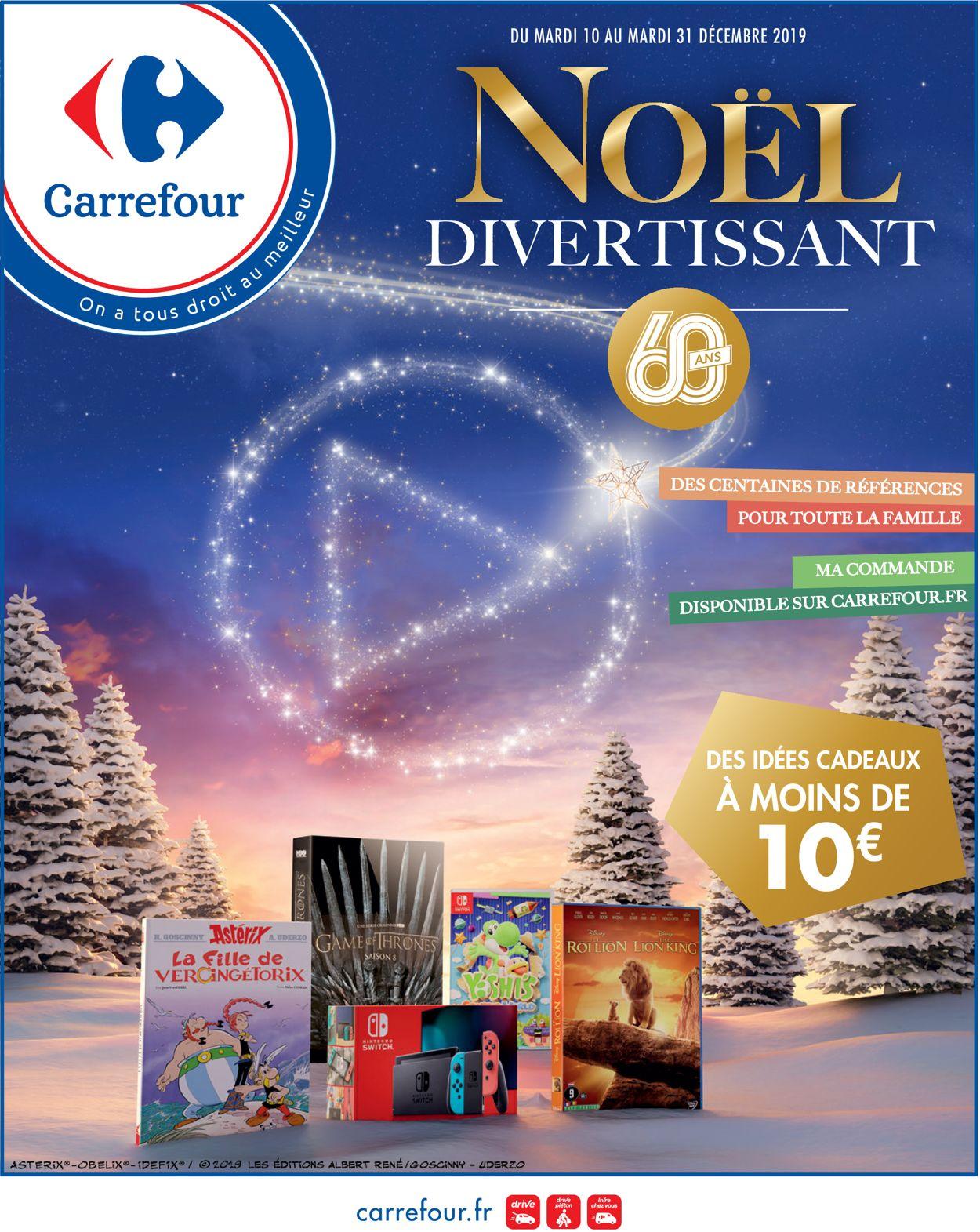 Carrefour - catalogue de Noël 2019 Catalogue - 10.12-31.12.2019