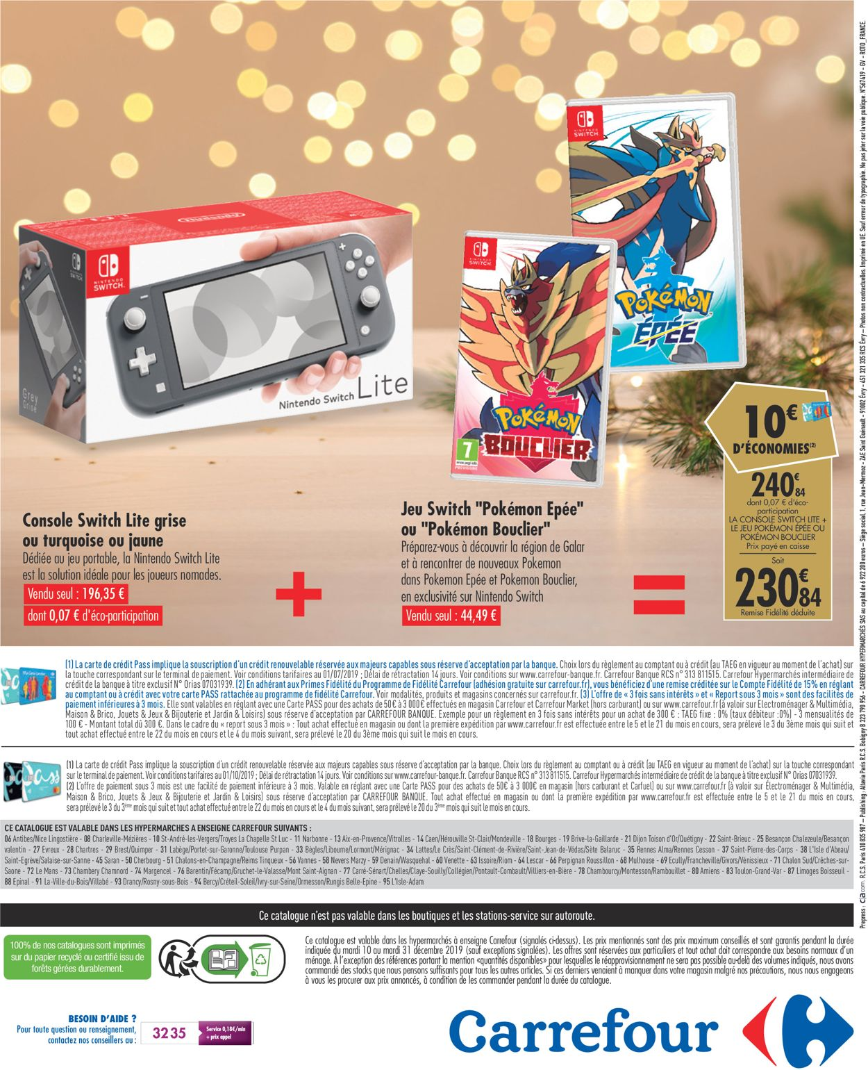 Carrefour - catalogue de Noël 2019 Catalogue - 10.12-31.12.2019 (Page 40)