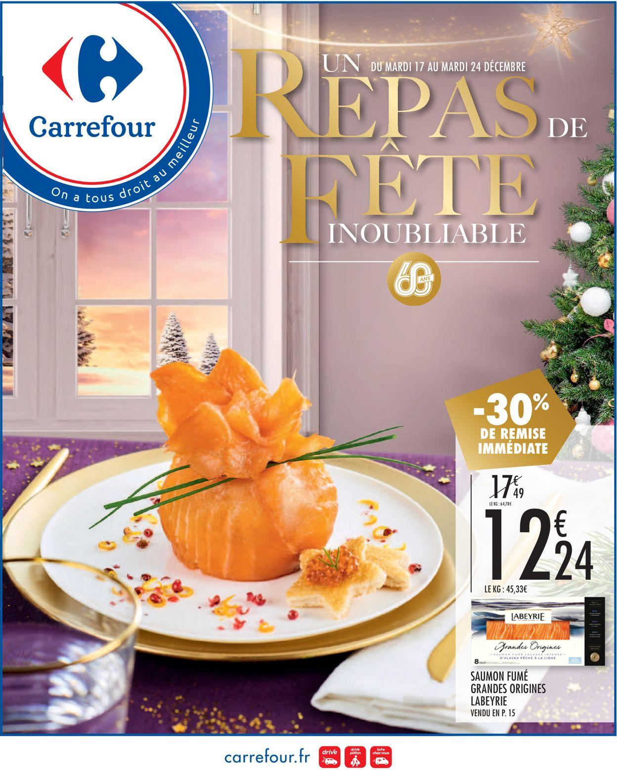 Carrefour - catalogue de Noël 2019 Catalogue - 17.12-24.12.2019