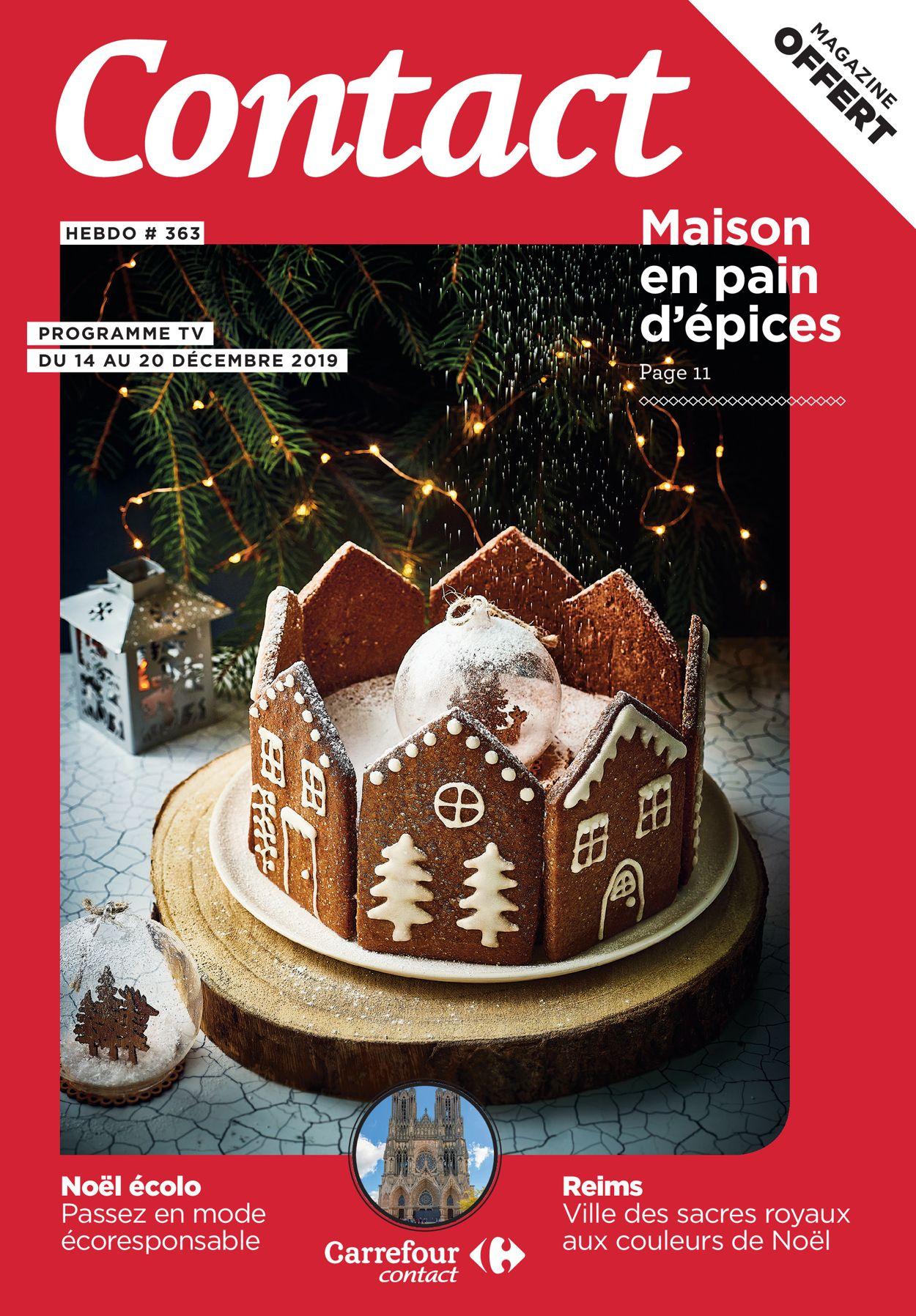 Carrefour - catalogue de Noël 2019 Catalogue - 14.12-20.12.2019