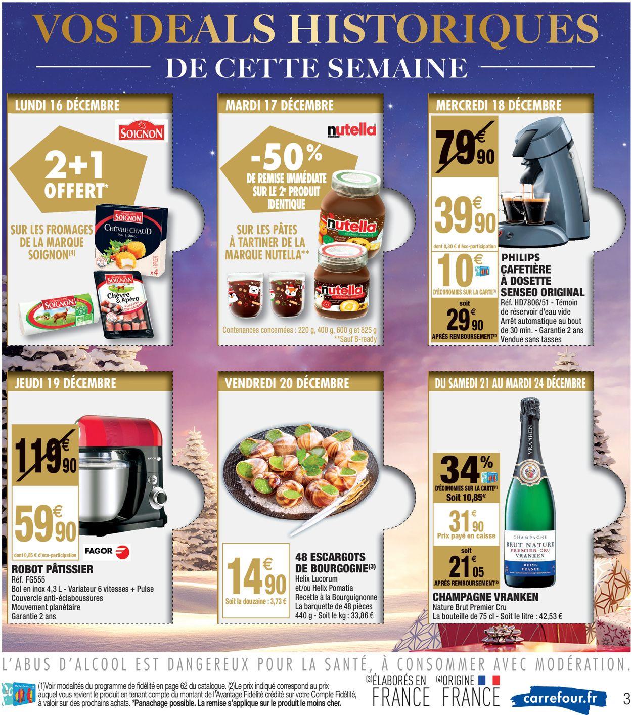 Carrefour - catalogue de Noël 2019 Catalogue - 17.12-31.12.2019 (Page 3)
