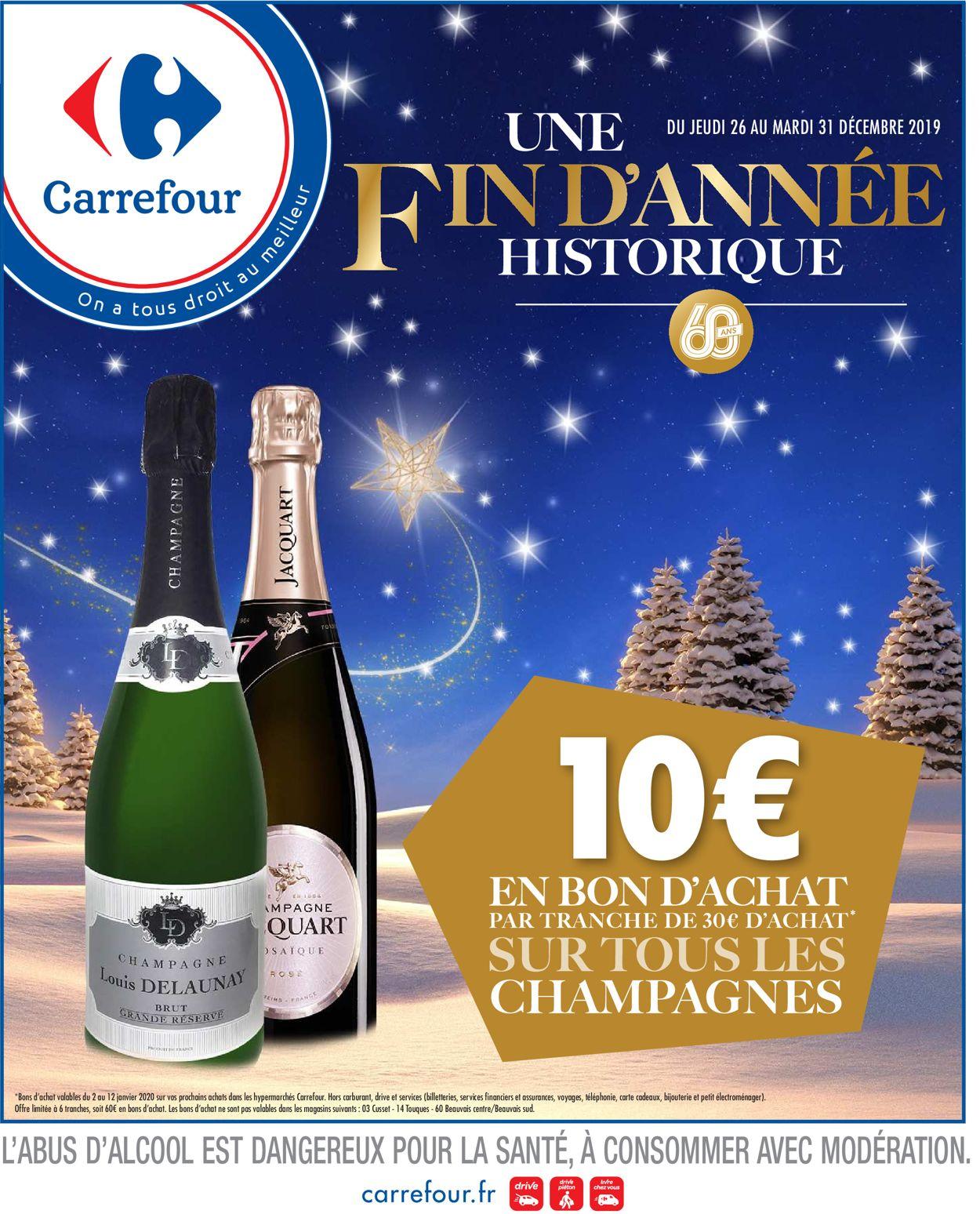 Catalogue du Nouvel An Carrefour Carrefour Catalogue - 26.12-31.12.2019