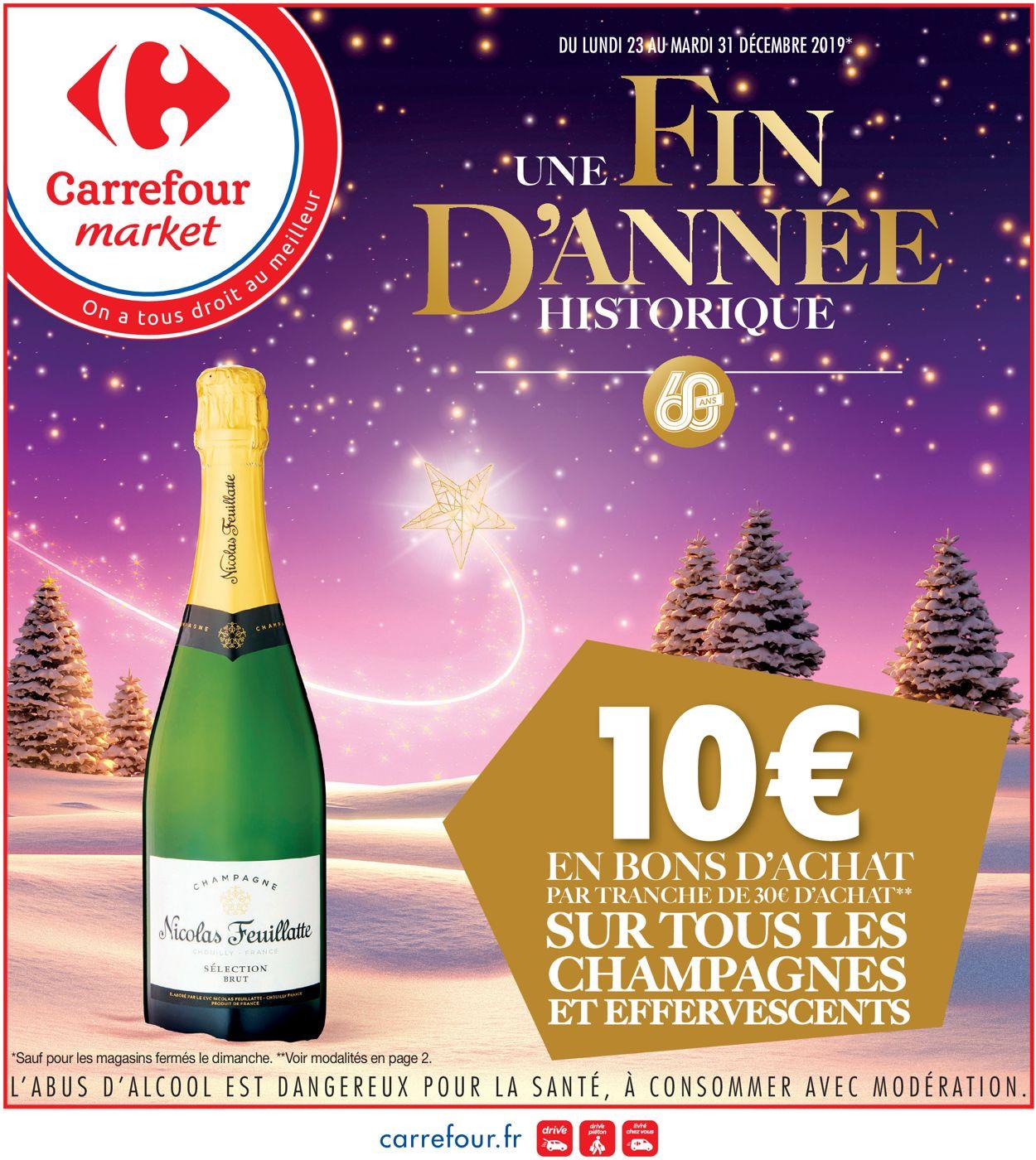 Catalogue du Nouvel An Carrefour Catalogue - 23.12-31.12.2019