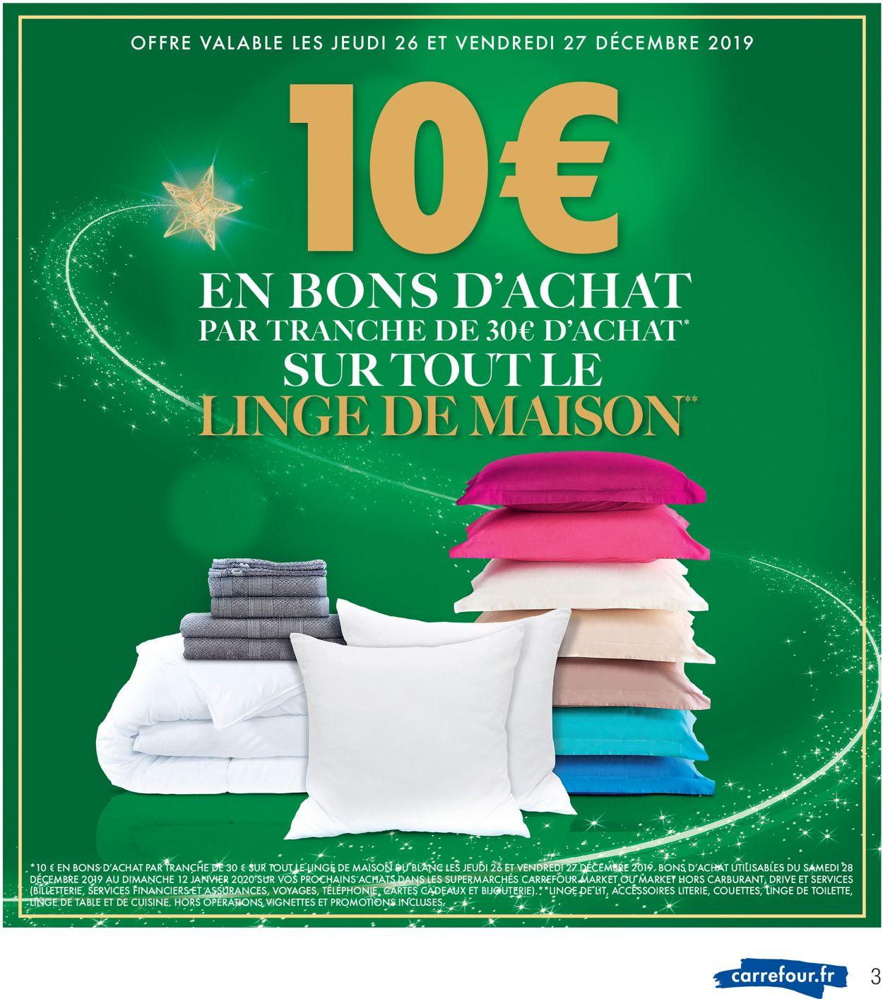 Catalogue du Nouvel An Carrefour Catalogue - 23.12-31.12.2019 (Page 3)
