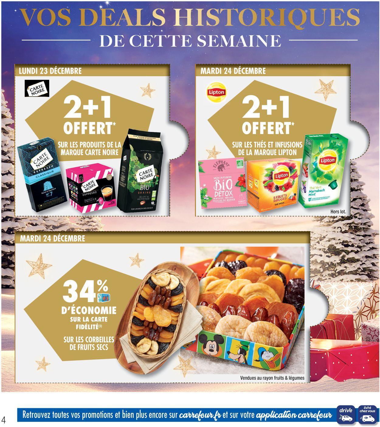 Catalogue du Nouvel An Carrefour Catalogue - 23.12-31.12.2019 (Page 4)