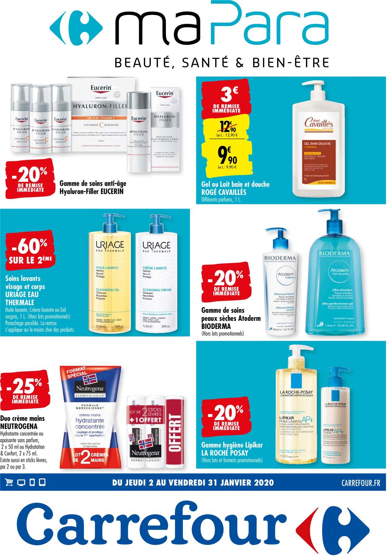 Carrefour Catalogue - 03.01-31.01.2020