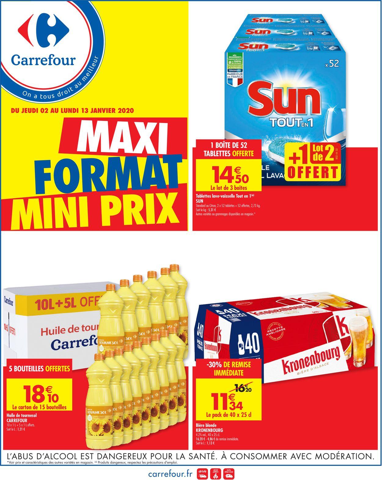 Carrefour Catalogue - 02.01-13.01.2020