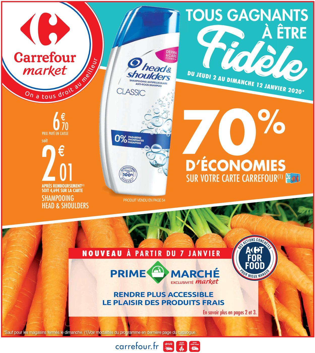 Carrefour Catalogue - 02.01-12.01.2020