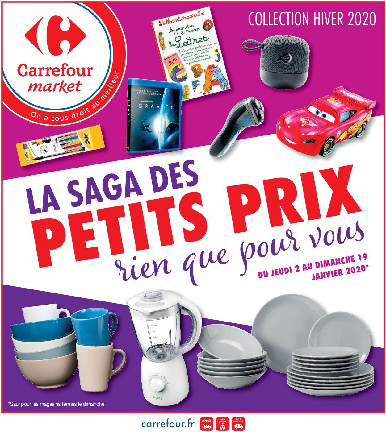 Carrefour Catalogue - 02.01-19.01.2020