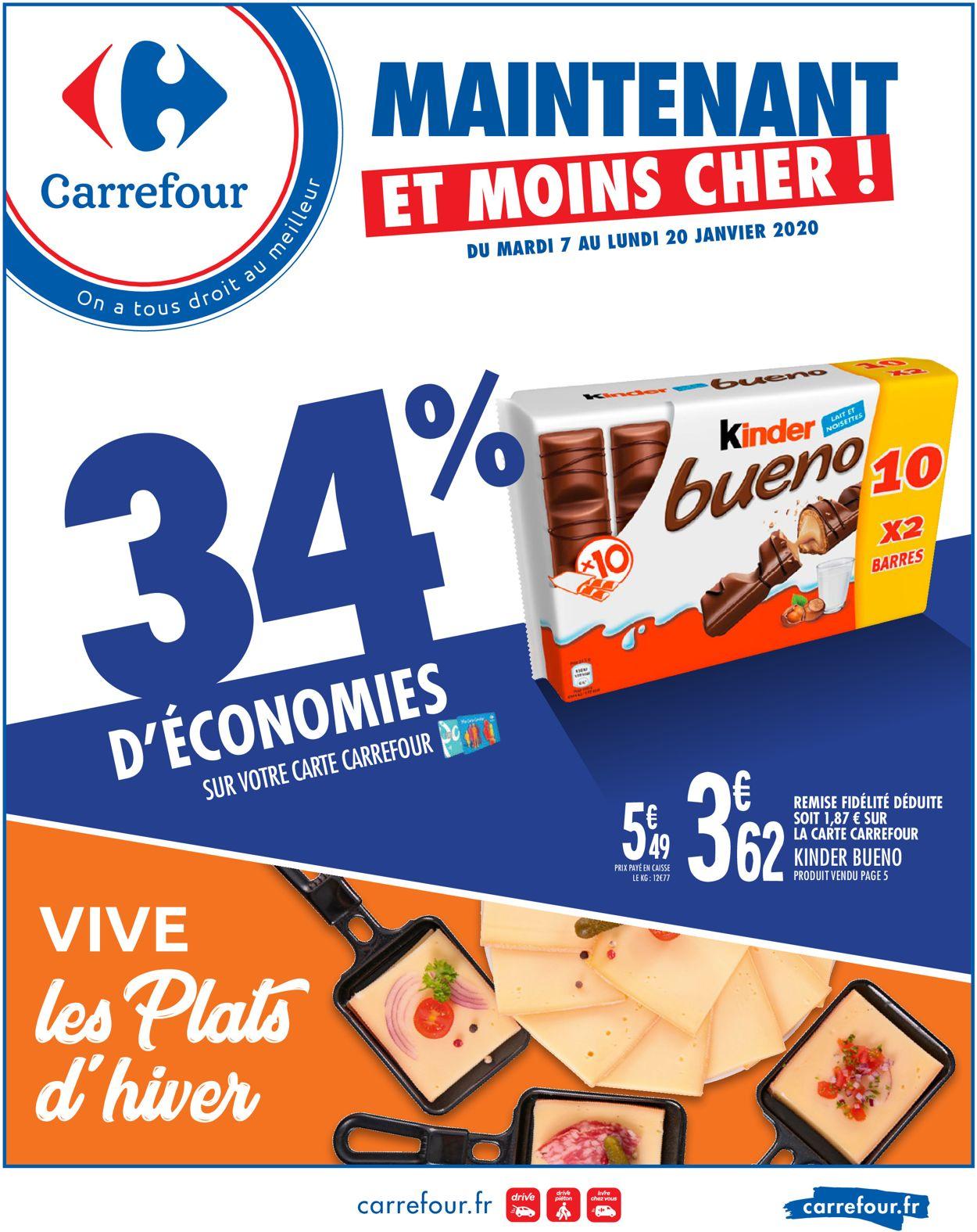 Carrefour Catalogue - 07.01-20.01.2020