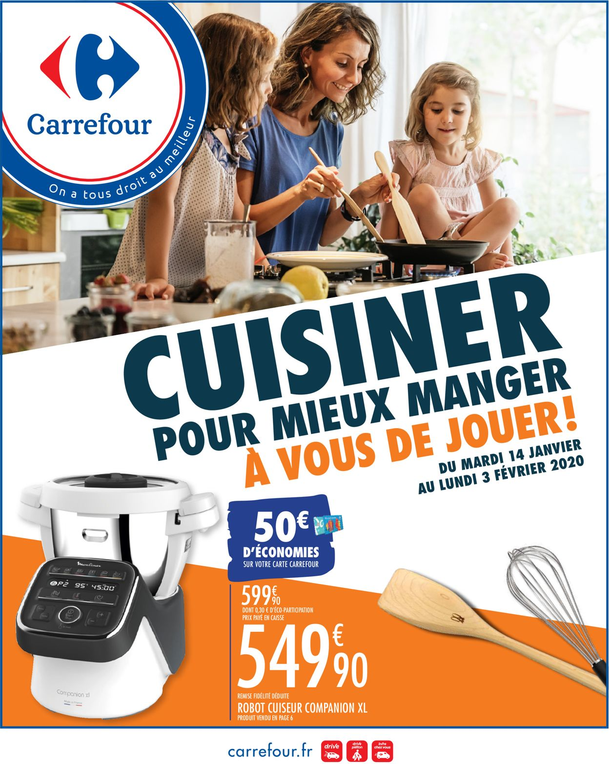 Carrefour Catalogue - 14.01-03.02.2020