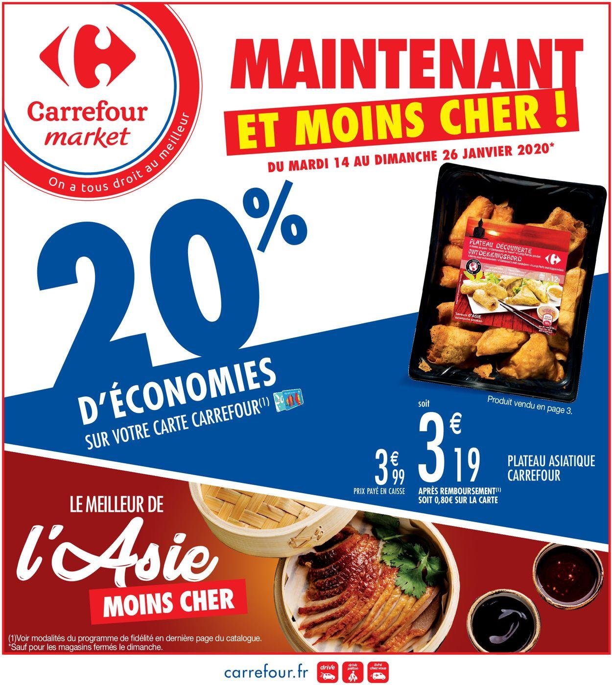 Carrefour Catalogue - 14.01-26.01.2020