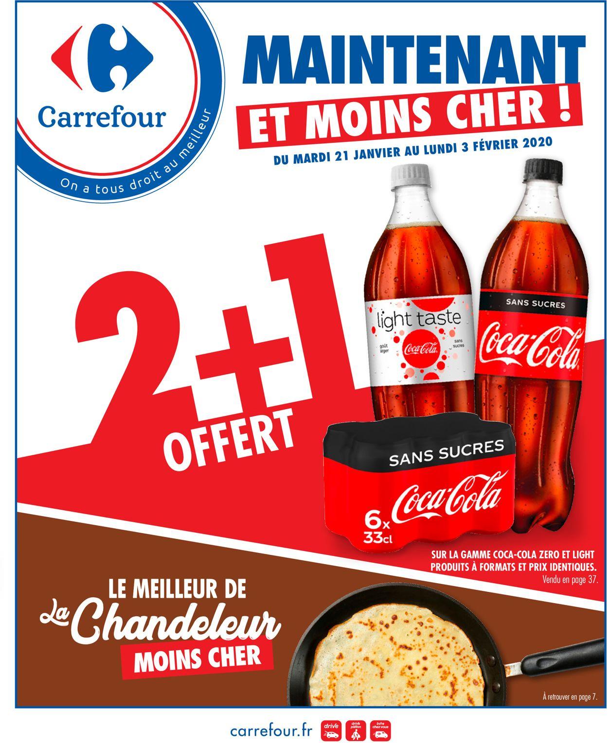 Carrefour Catalogue - 21.01-03.02.2020