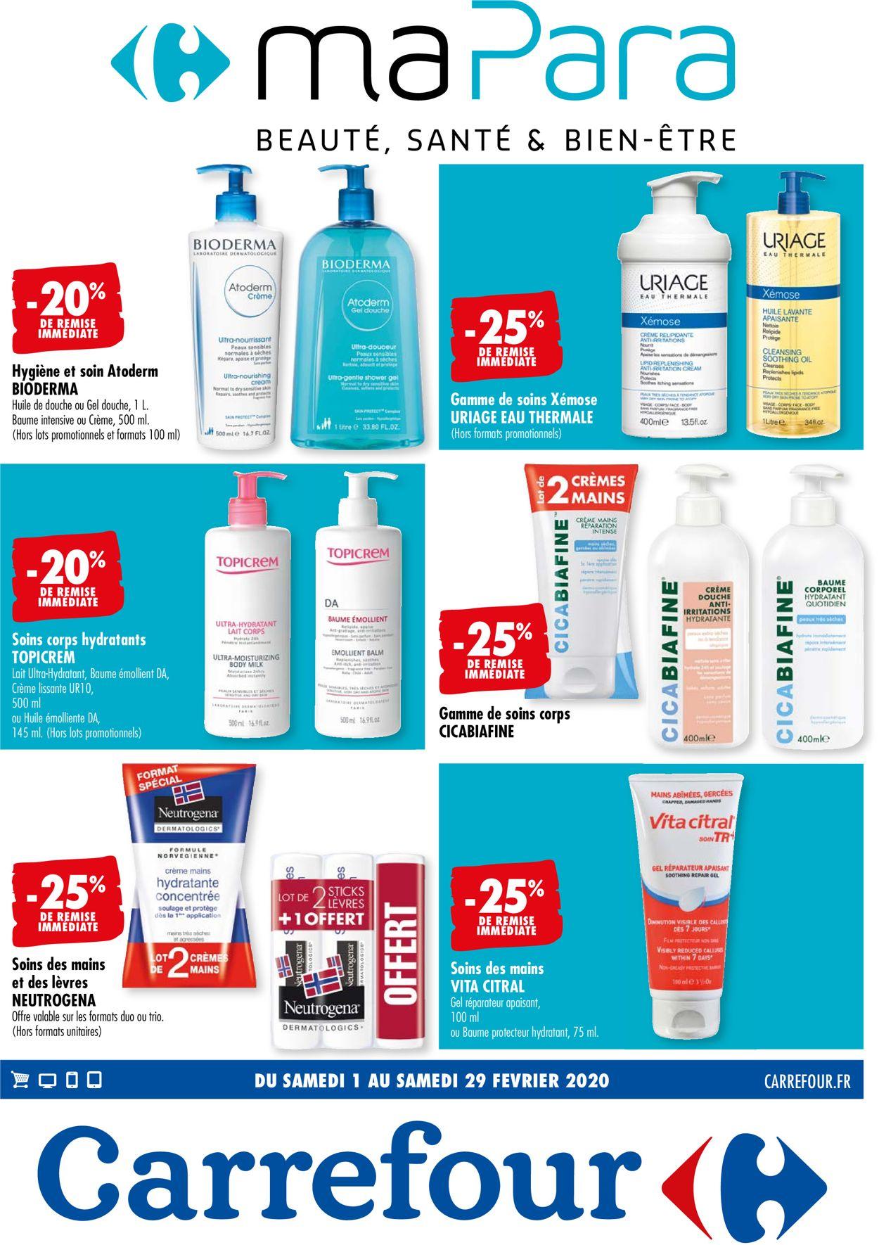 Carrefour Catalogue - 01.02-29.02.2020