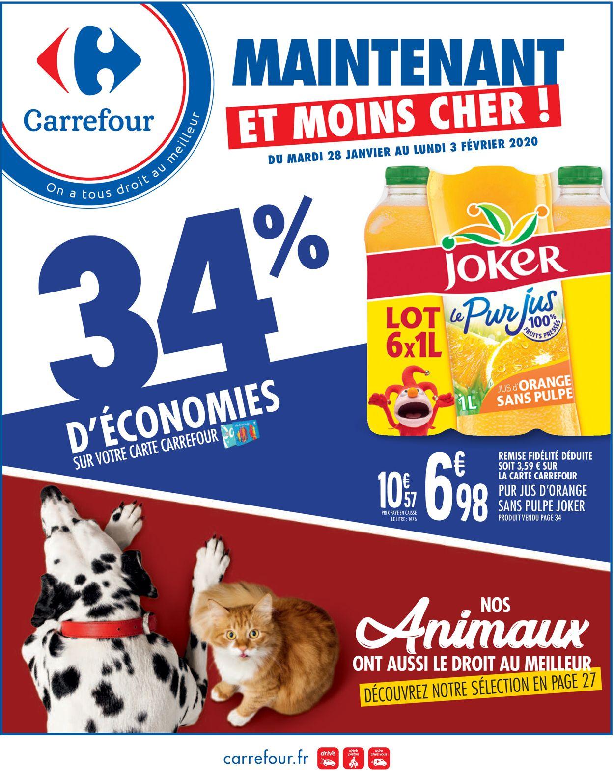 Carrefour Catalogue - 28.01-03.02.2020