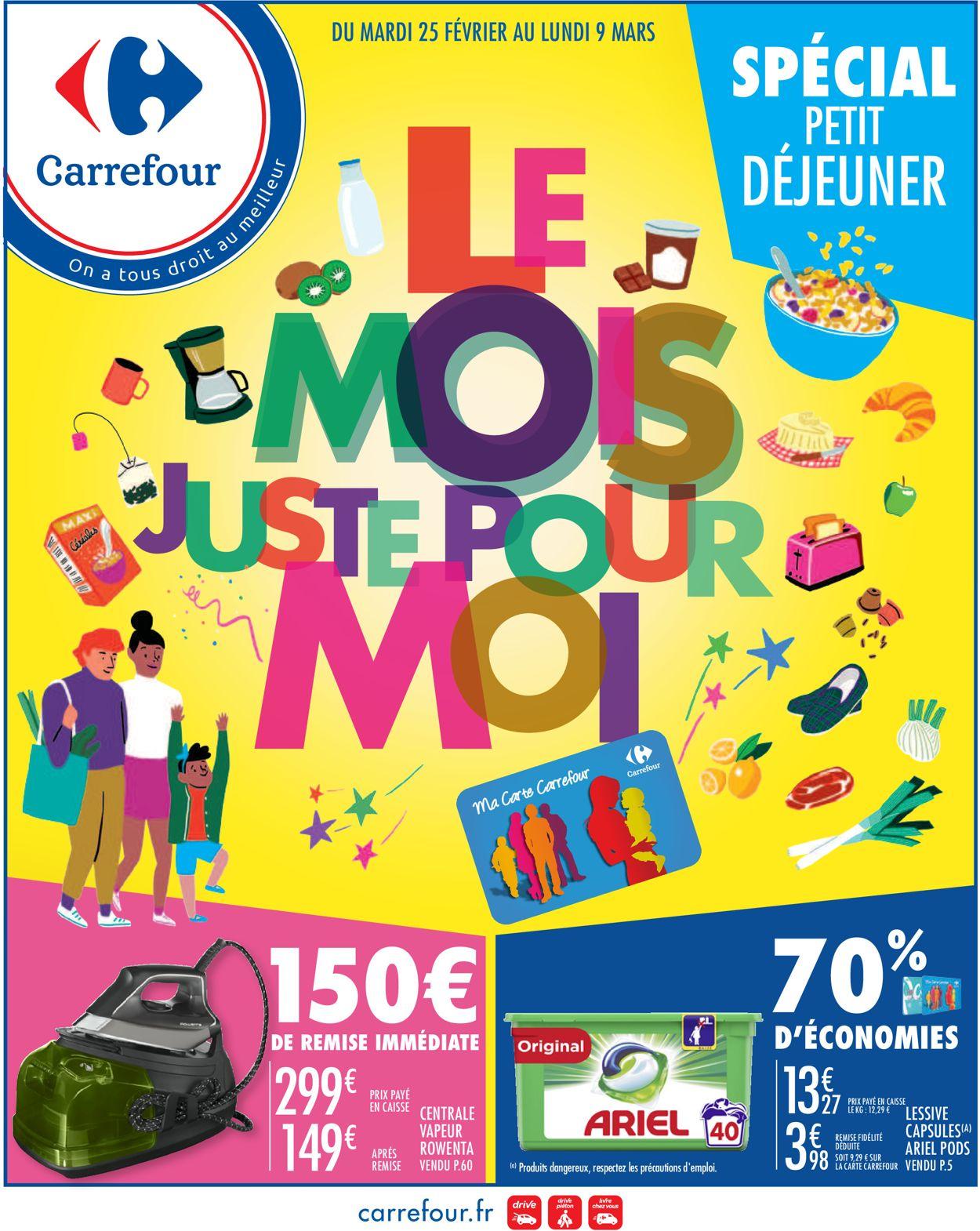 Carrefour Catalogue - 25.02-09.03.2020