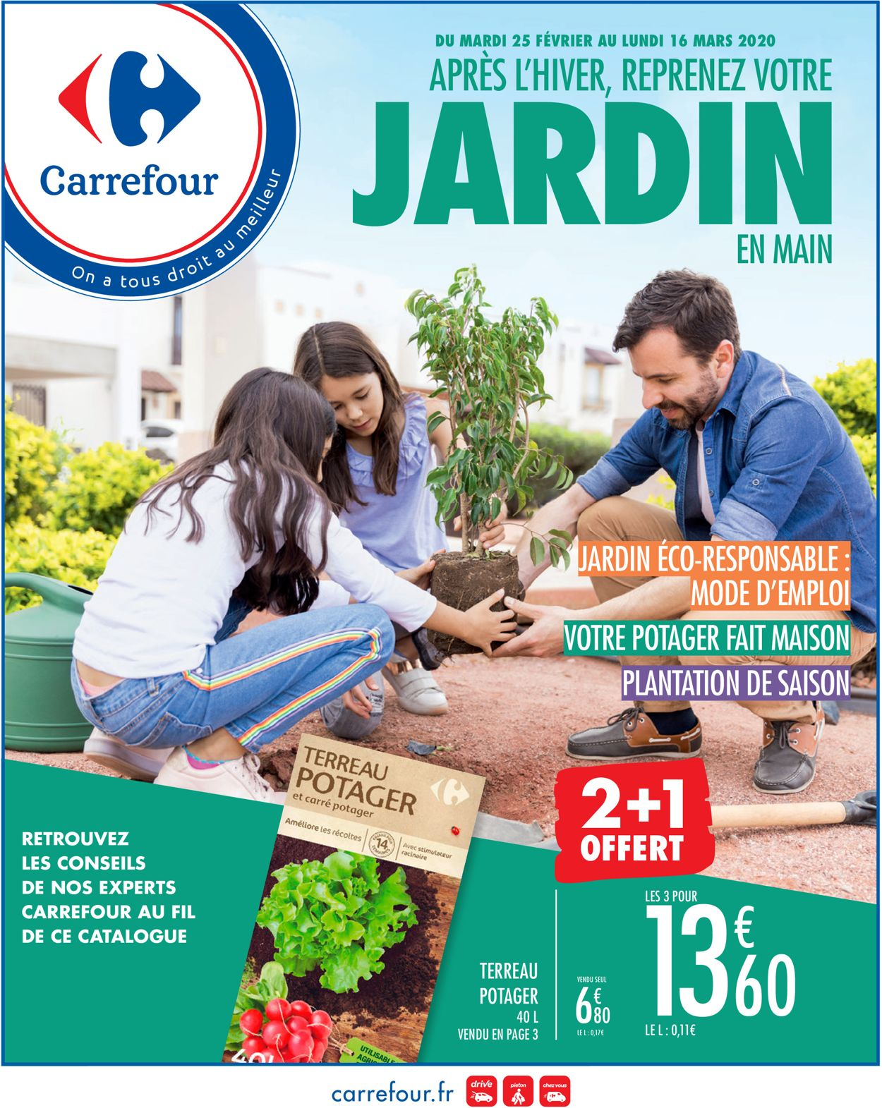 Carrefour Catalogue - 25.02-16.03.2020