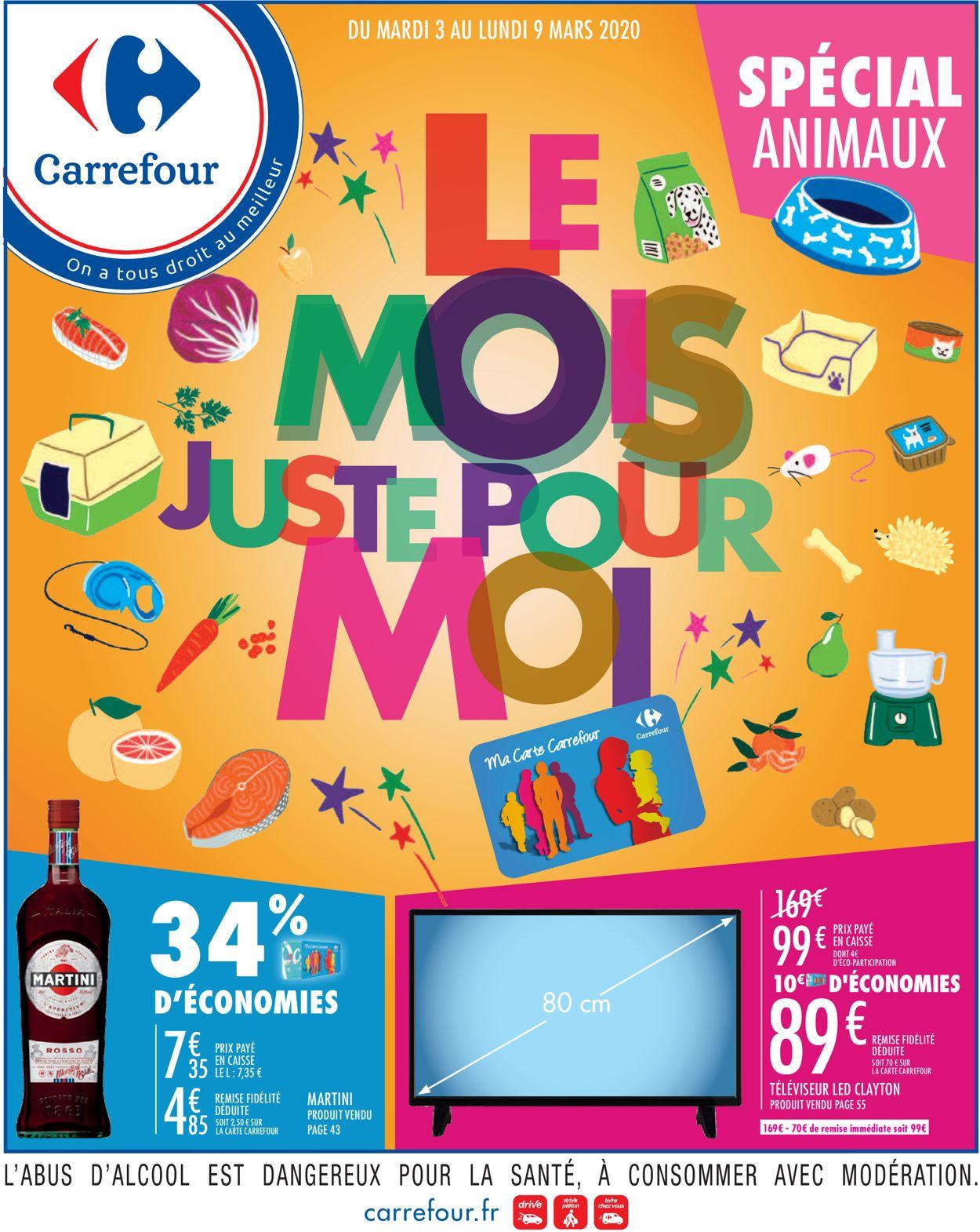 Carrefour Catalogue - 03.03-09.03.2020