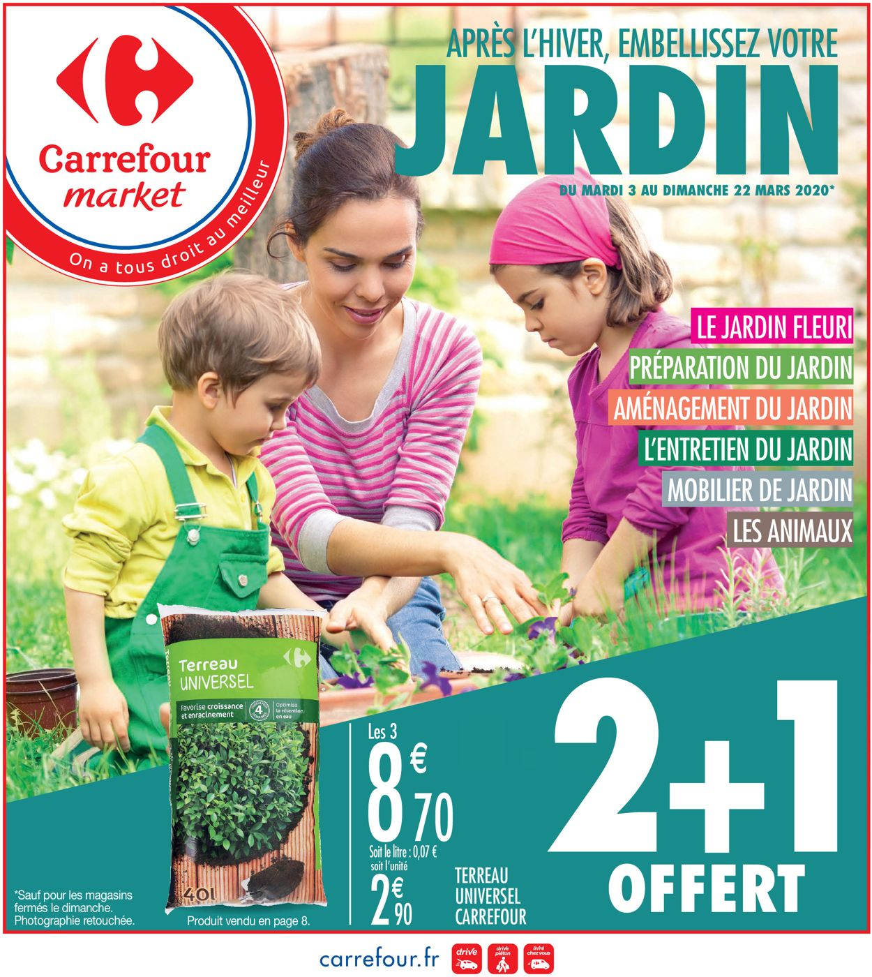 Carrefour Catalogue - 03.03-22.03.2020