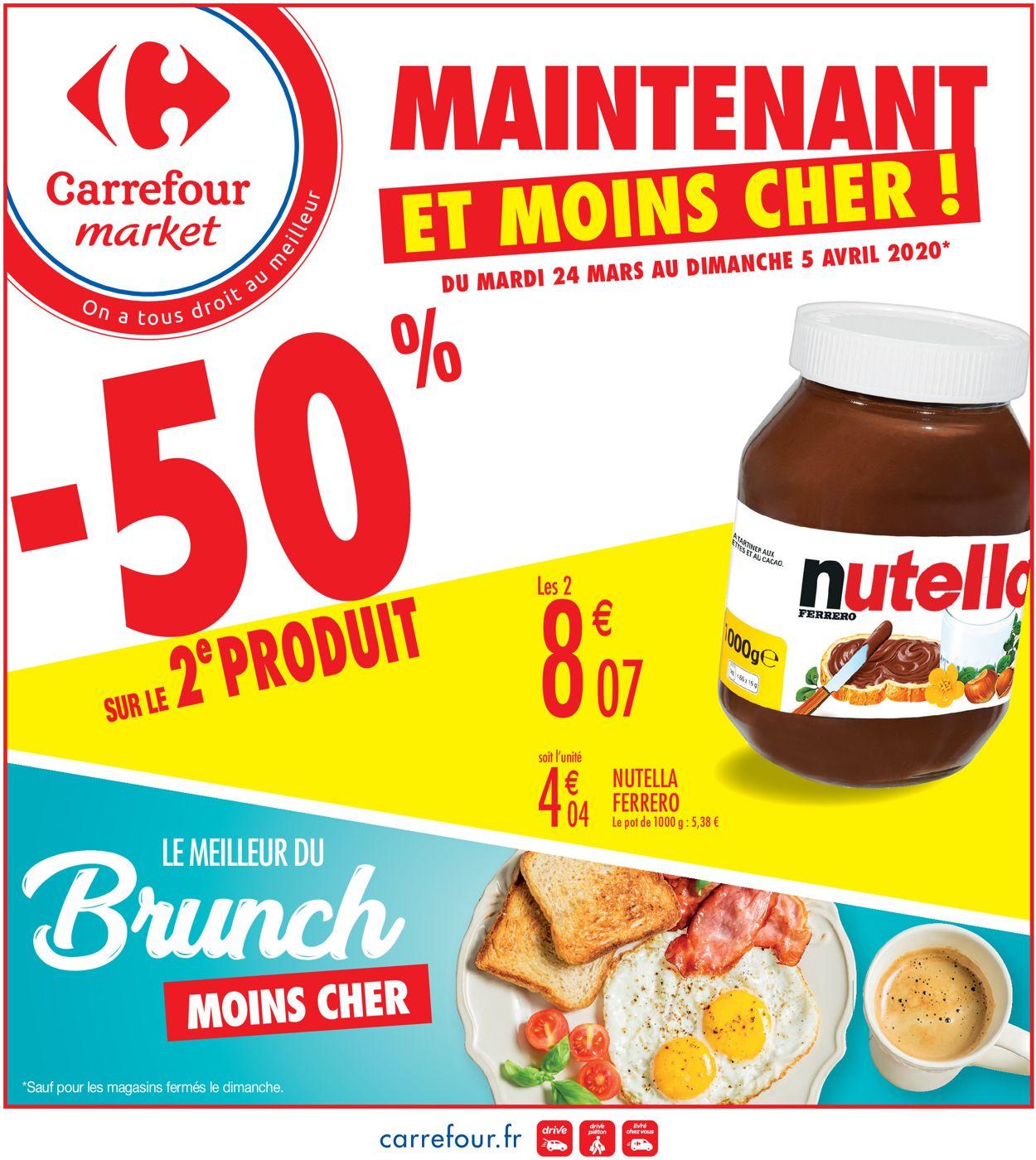 Carrefour Catalogue - 24.03-05.04.2020