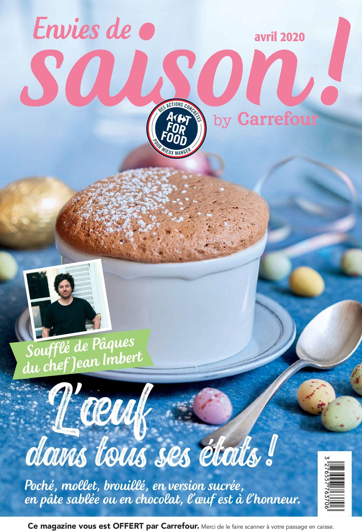 Carrefour Catalogue - 01.04-30.04.2020