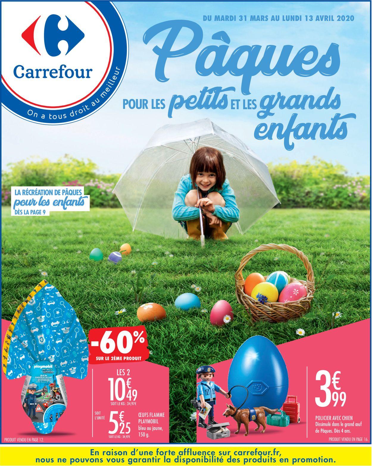 Carrefour Catalogue - 31.03-13.04.2020