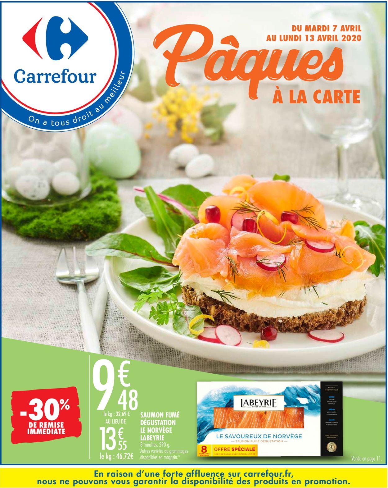 Carrefour Catalogue - 07.04-13.04.2020