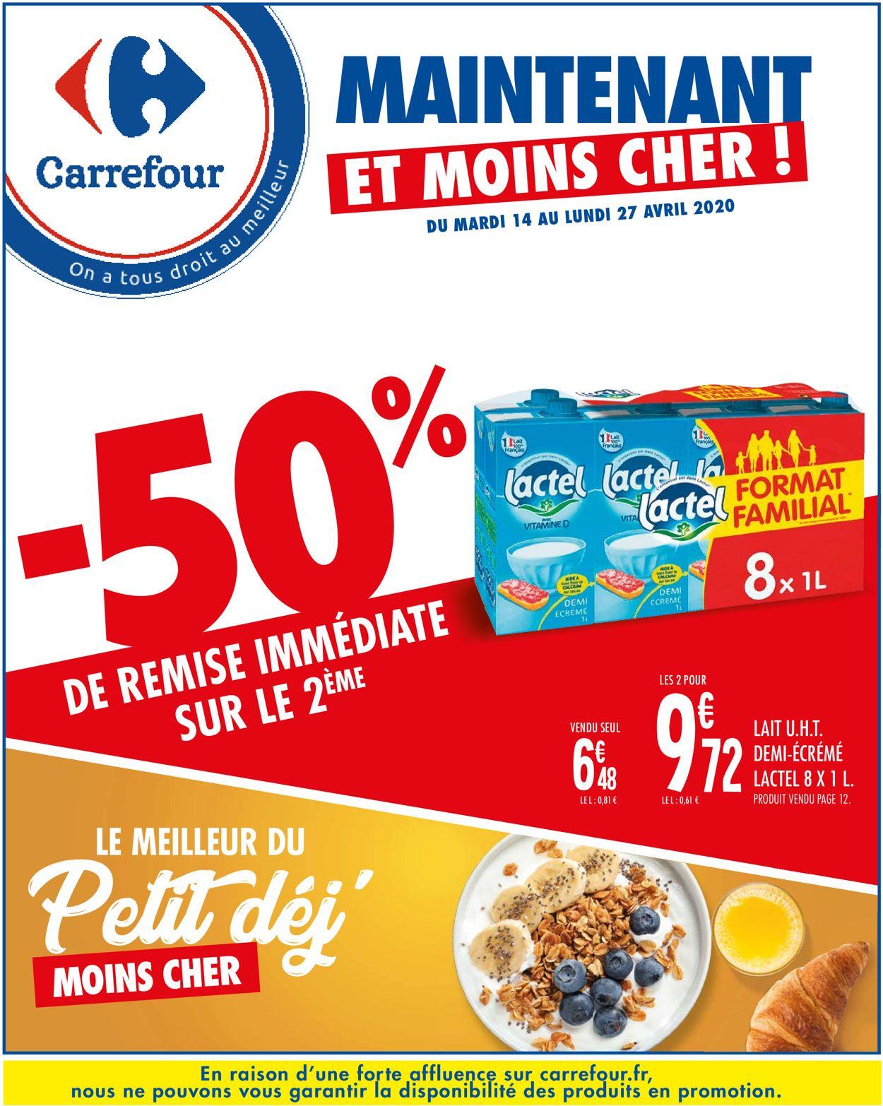 Carrefour Catalogue - 14.04-27.04.2020