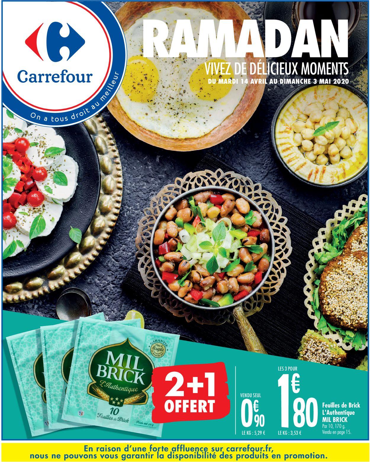 Carrefour Catalogue - 14.04-03.05.2020