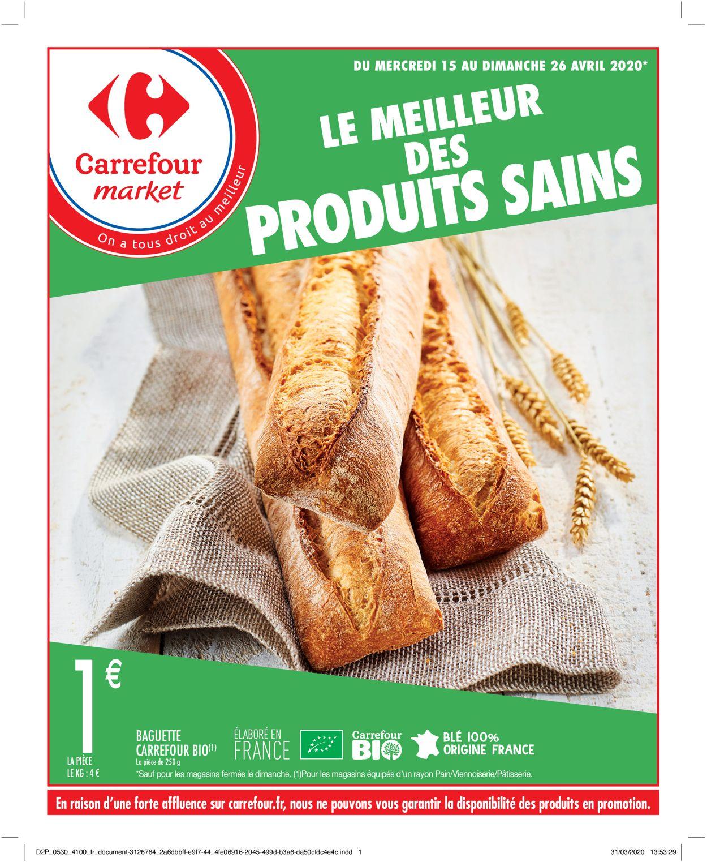 Carrefour Catalogue - 15.04-26.04.2020