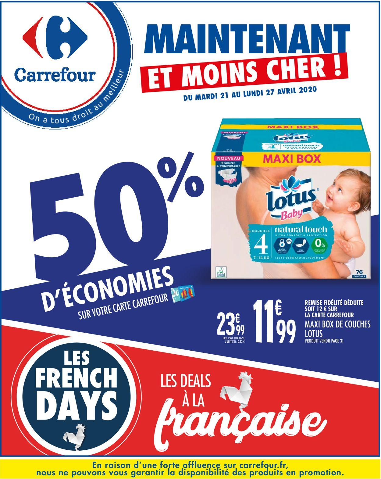 Carrefour Catalogue - 21.04-27.04.2020