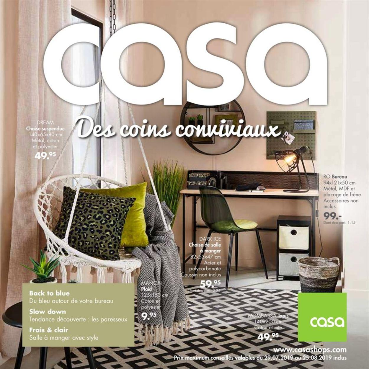 Casa Catalogue - 29.07-25.08.2019