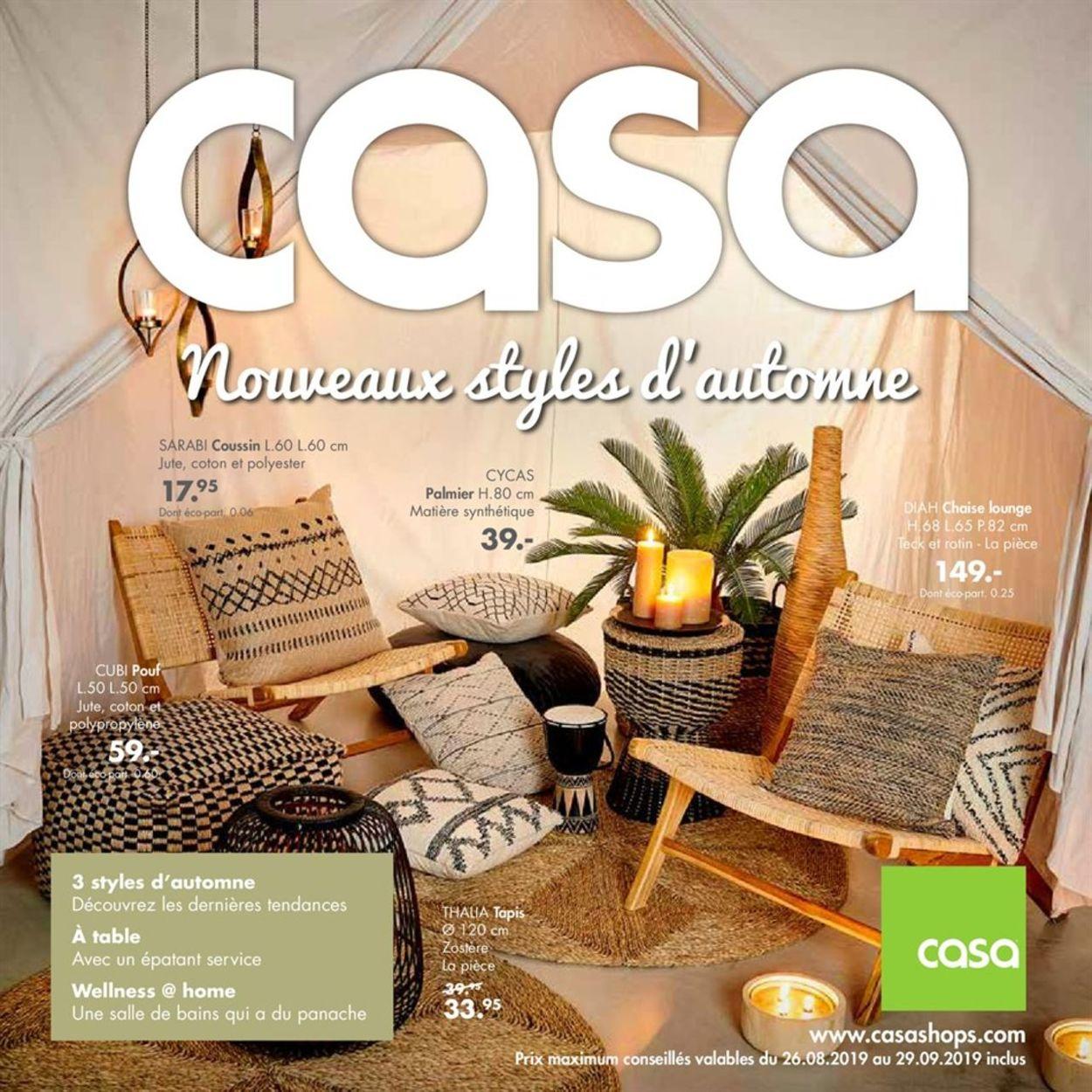 Casa Catalogue - 26.08-29.09.2019